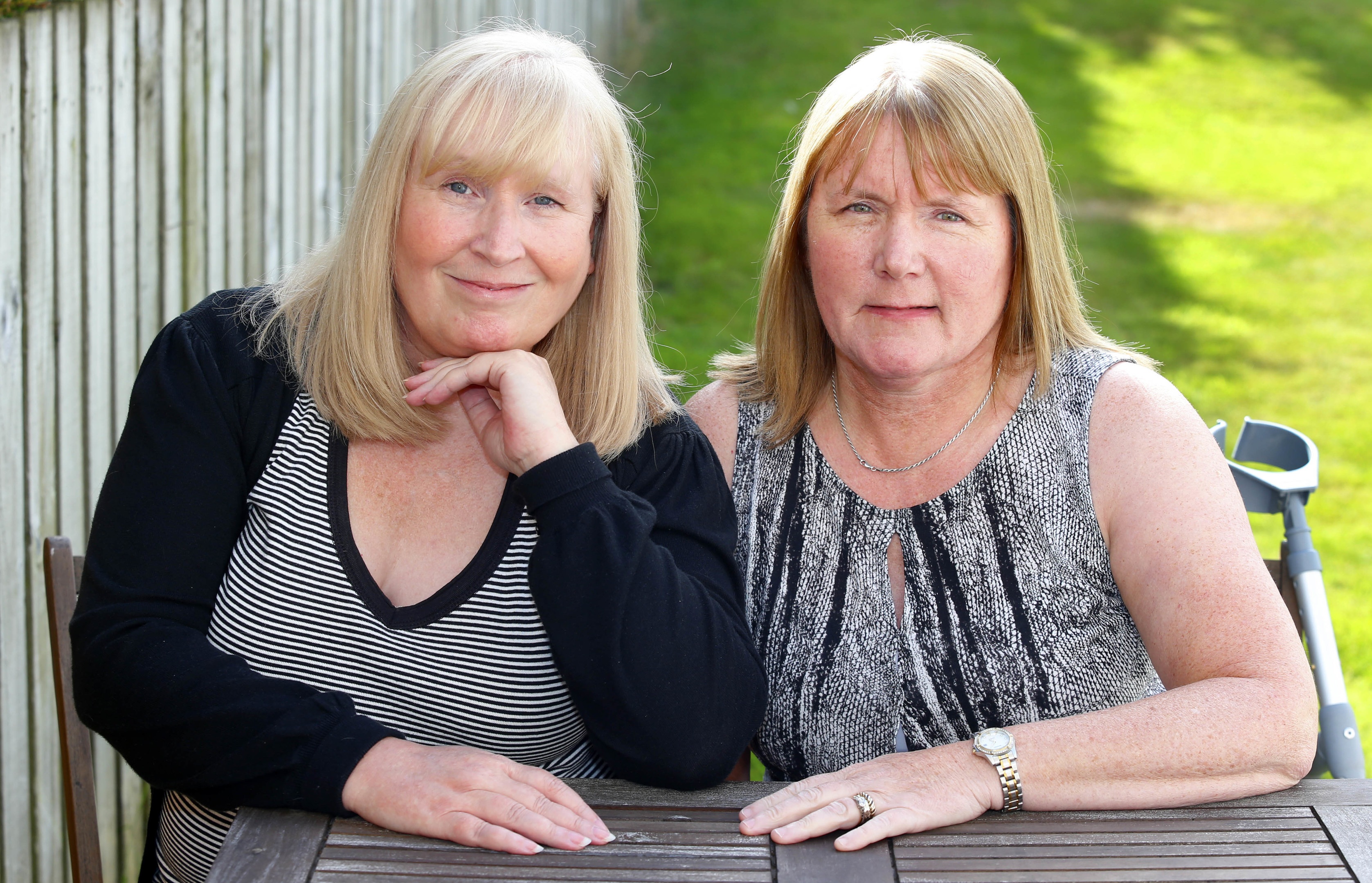 Mesh Victims Elaine Holmes and Olive McIlroy