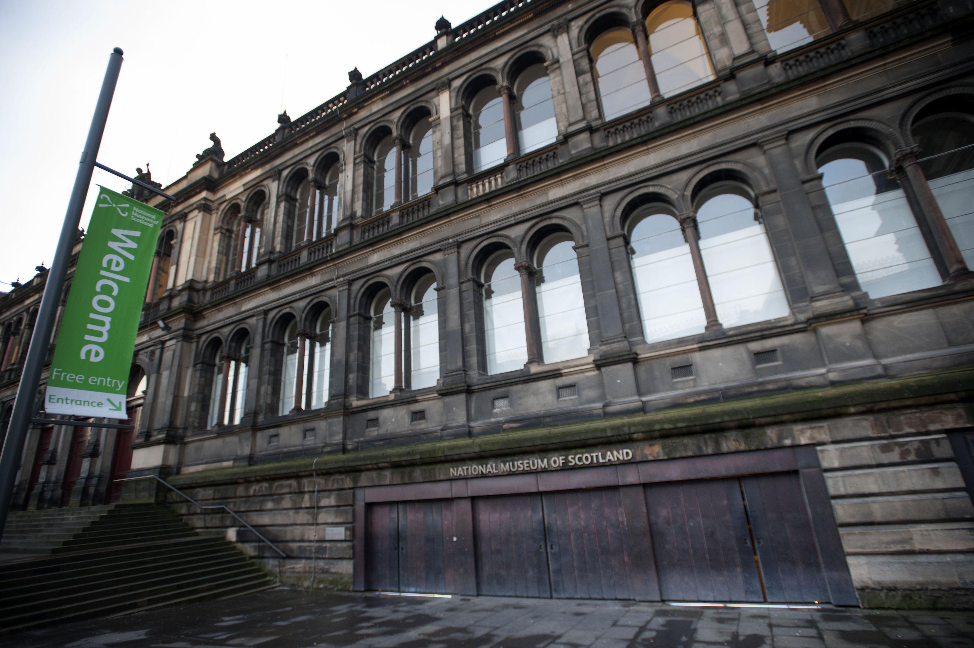 The National Museum of Scotland in Edinburgh. (Jane Barlow/PA Wire)