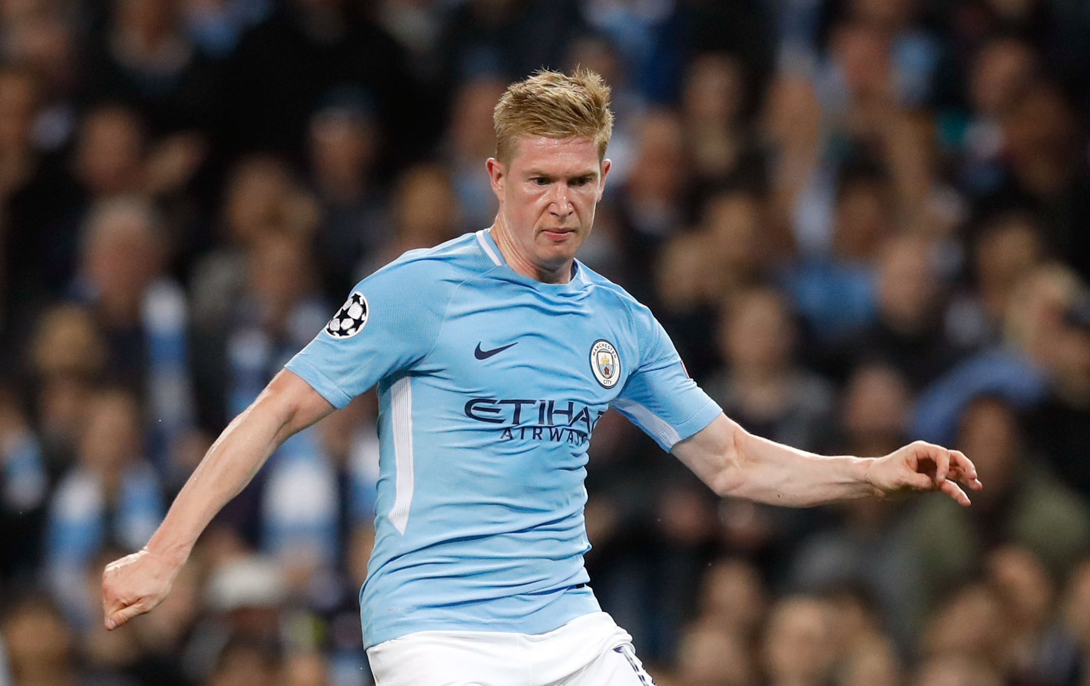 Manchester City's Kevin De Bruyne. (Martin Rickett/PA Wire)