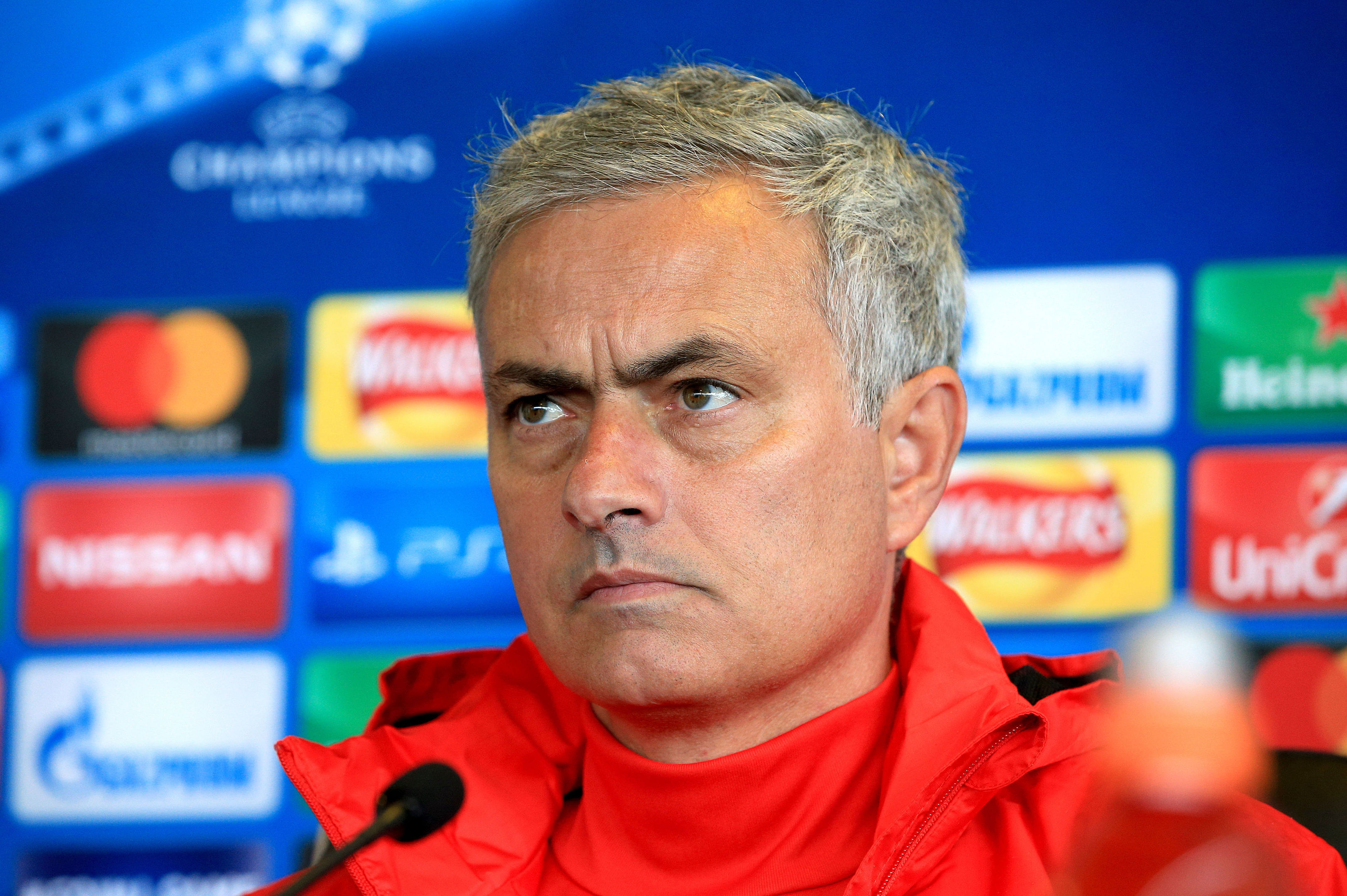 Manchester United manager Jose Mourinho. (Peter Byrne/PA Wire)