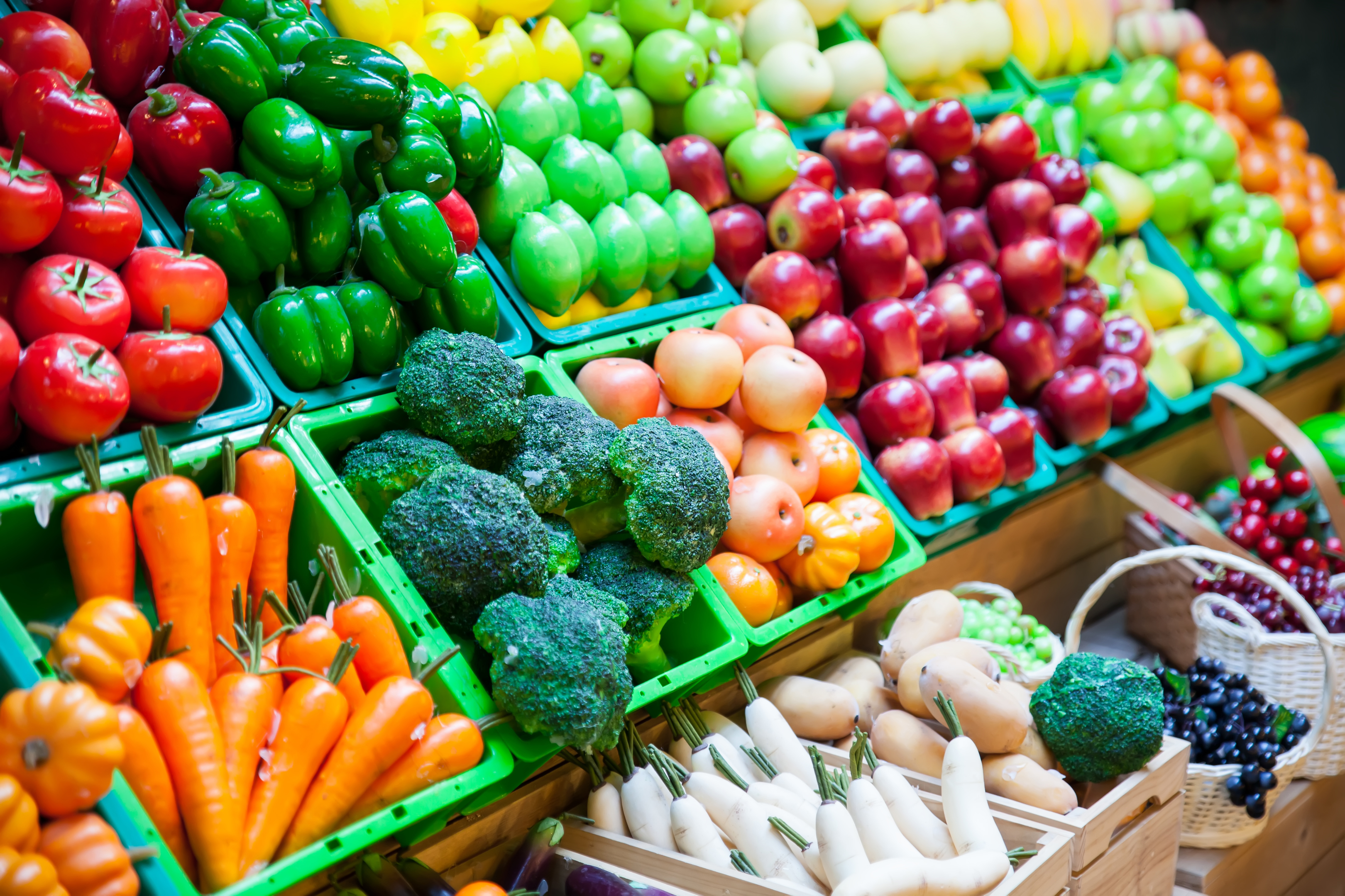 Scots consumed three portions of fruit and vegetables per day on average in 2016 (iStock)