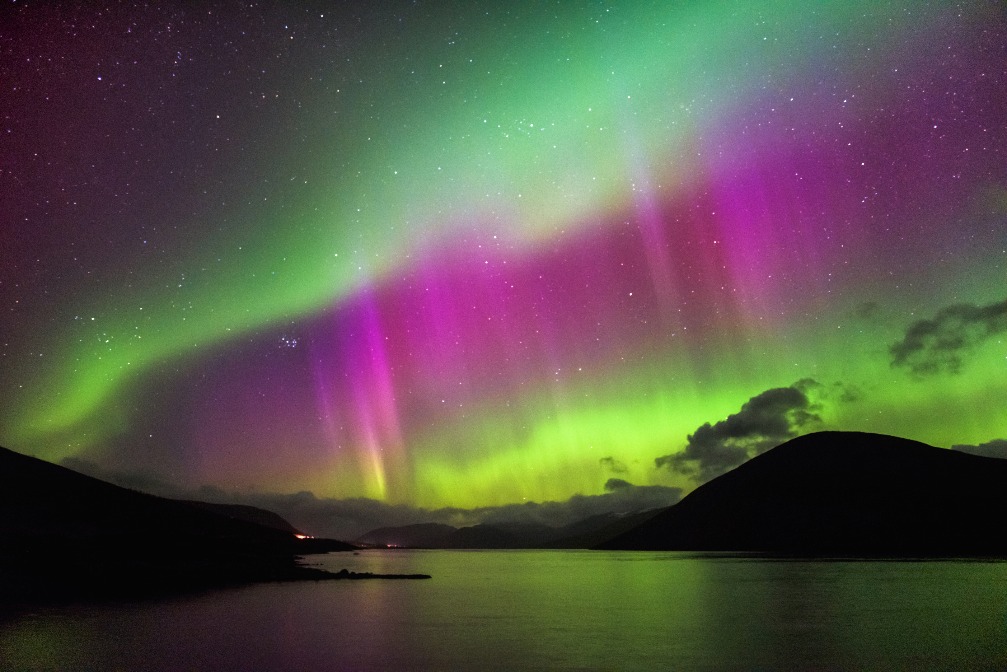 The Aurora Borealis, also known as the Northern Lights, could be visible in parts of Scotland tonight (iStock)