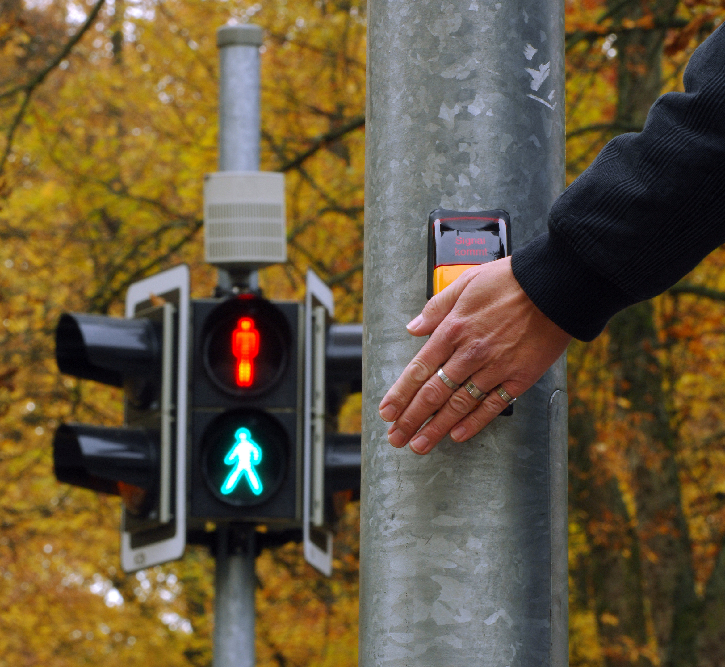 Green Man crossings are leaving people feeling 'isolated' and 'embarrassed' (iStock)