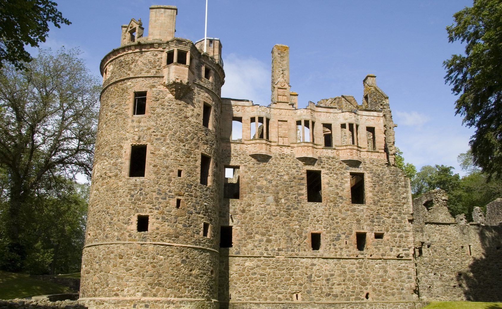 Huntly Castle (Getty Images)