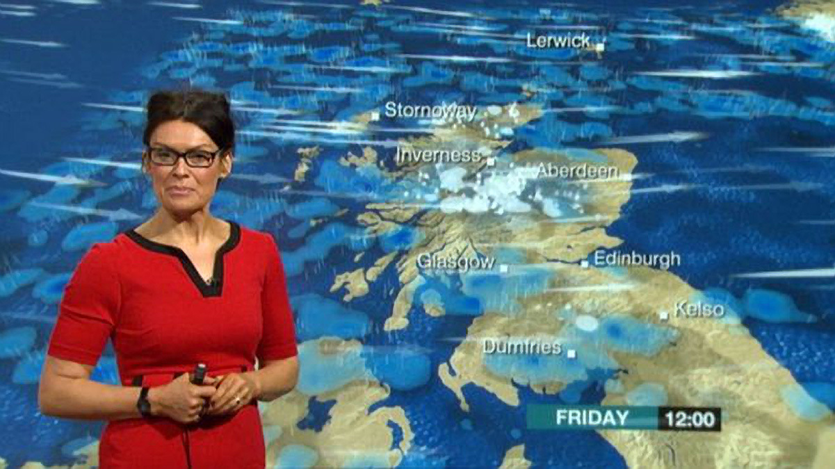 Dreich, baltic, droukit... there are plenty of choice phrases to describe our weather