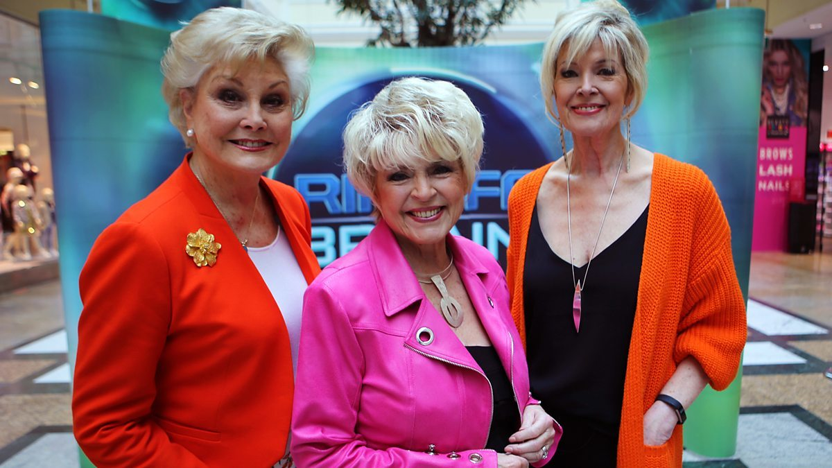 Gloria, centre, is passionate about BBC consumer show Rip Off Britain, which she presents with Angela Rippon, on left, and Julia Somerville