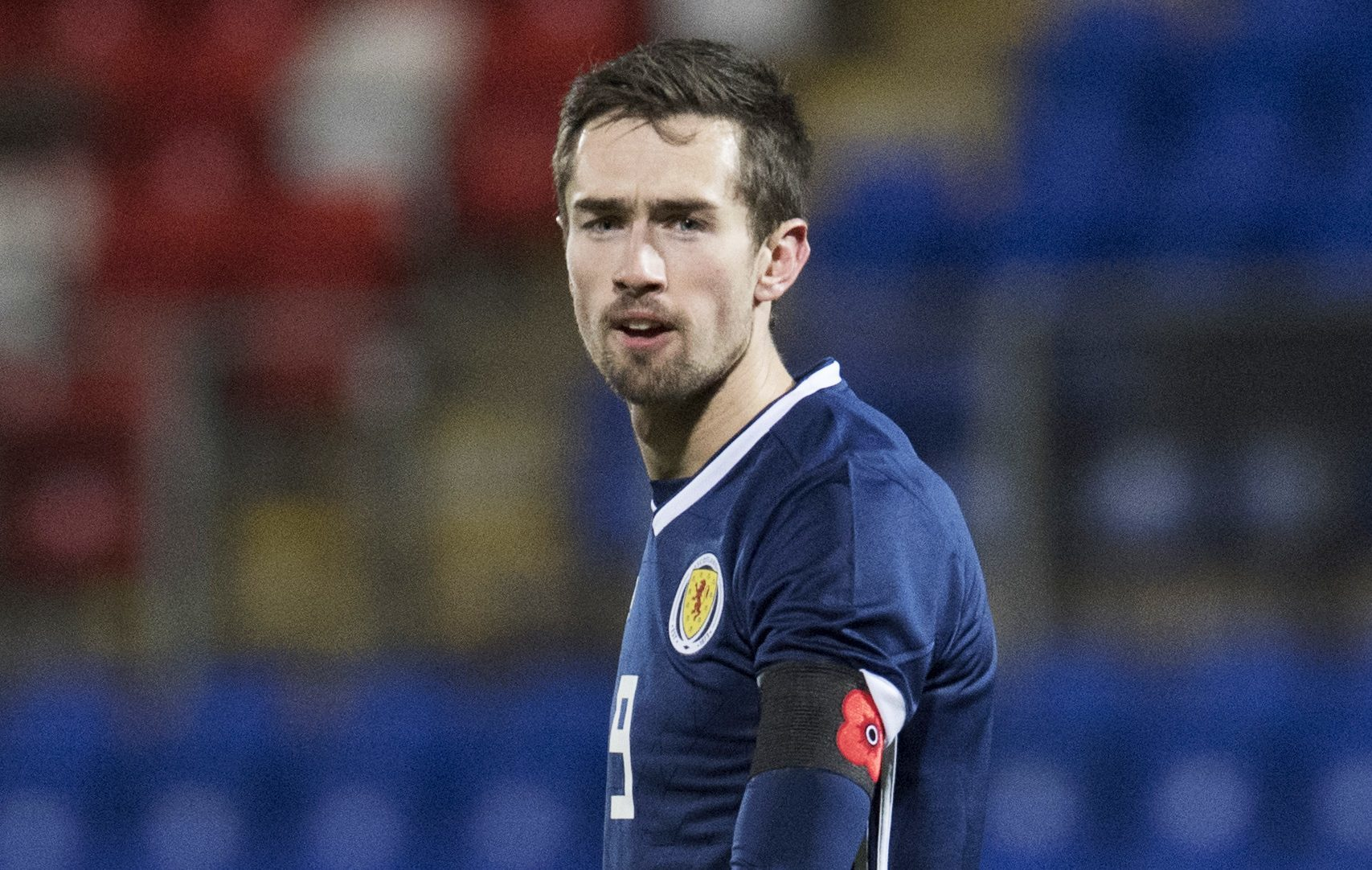 Ryan Hardie in action for Scotland (SNS Group / Craig Foy)