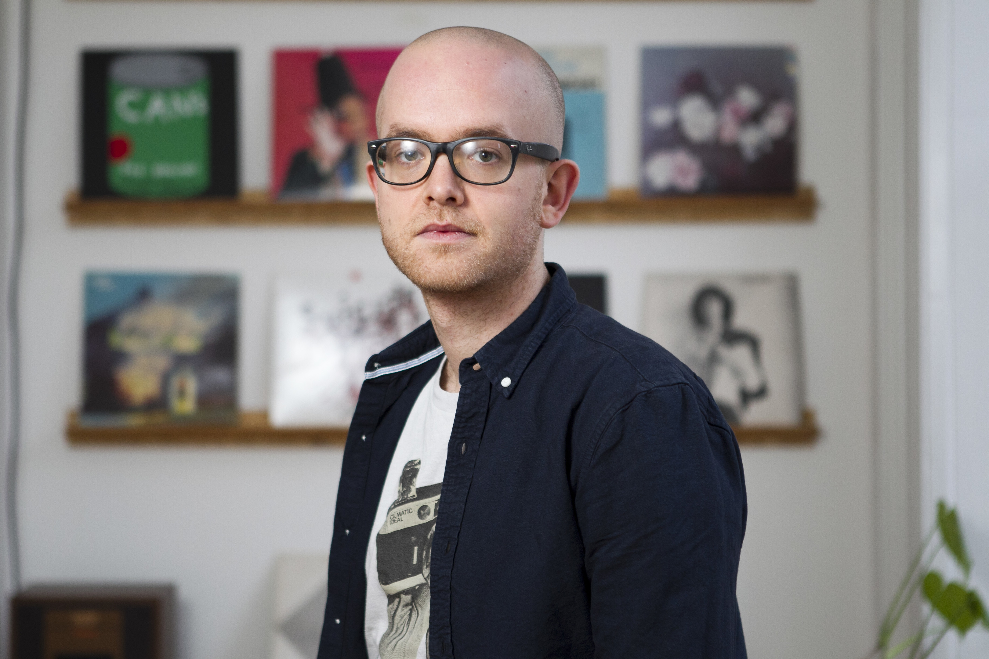 Mark Oliver, who is unhappy with the current education system (Andrew Cawley / DC Thomson)