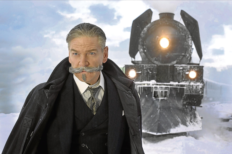 Murder on the Orient Express, starring Kenneth Branagh