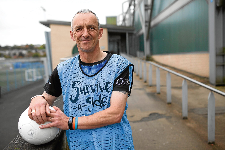 Brian Gemmell, a lung cancer survivor