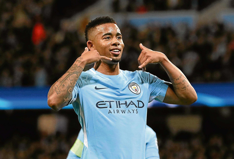 Manchester City's Gabriel Jesus (Martin Rickett / PA Wire)