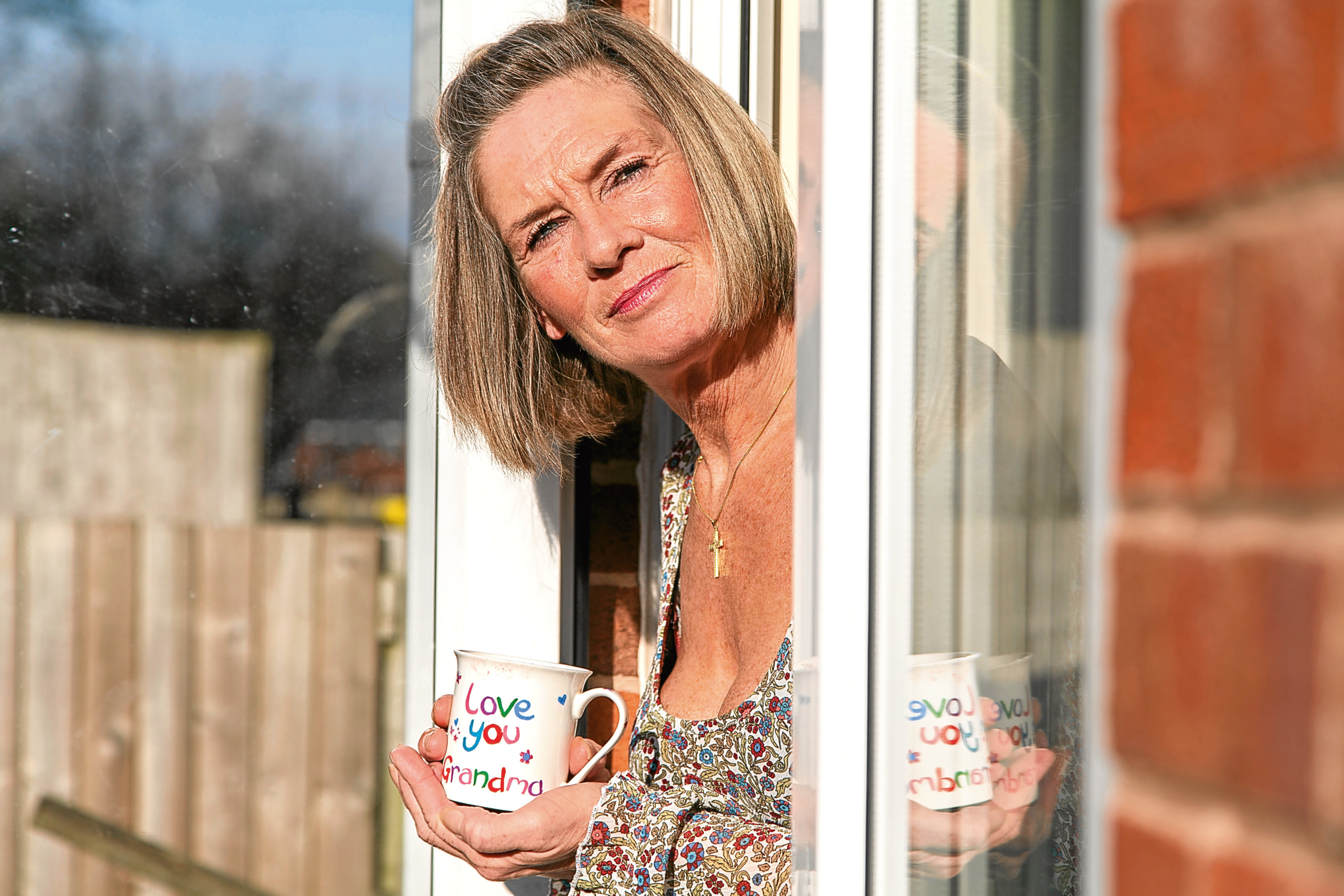 Pam Leith at her home in Bolton. After booking a holiday for all her family together they were split up in two different resorts (Bob Collier)
