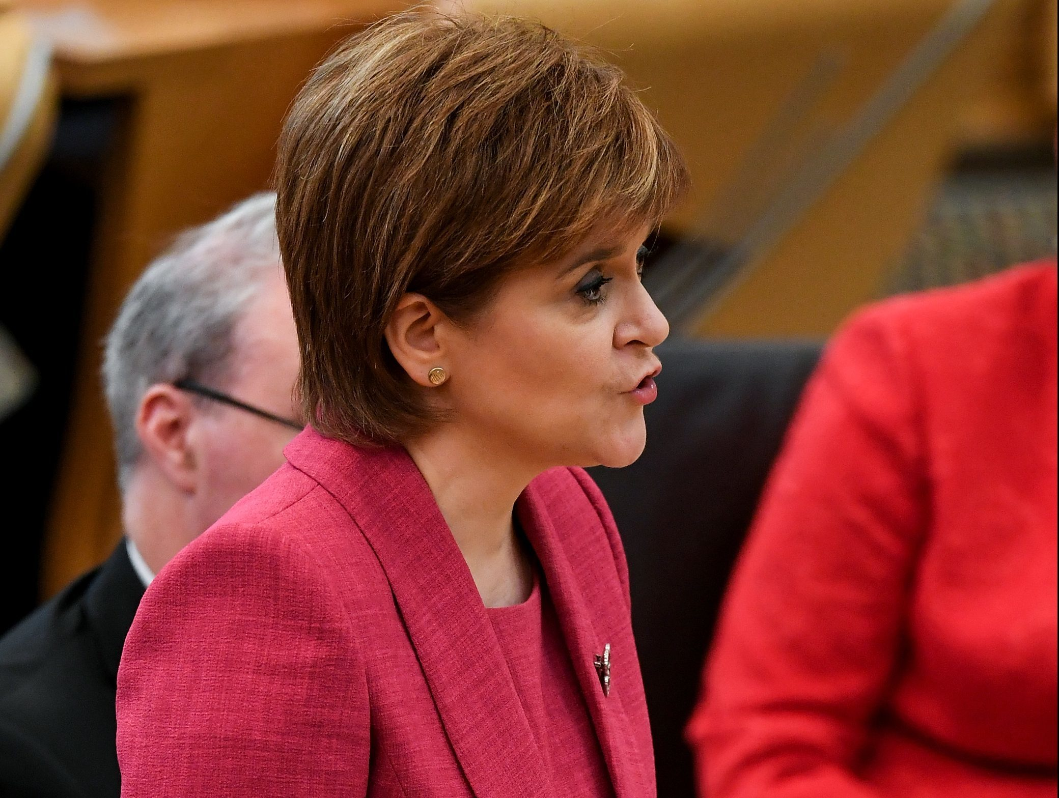 First Minister Nicola Sturgeon (Jeff J Mitchell/Getty Images)