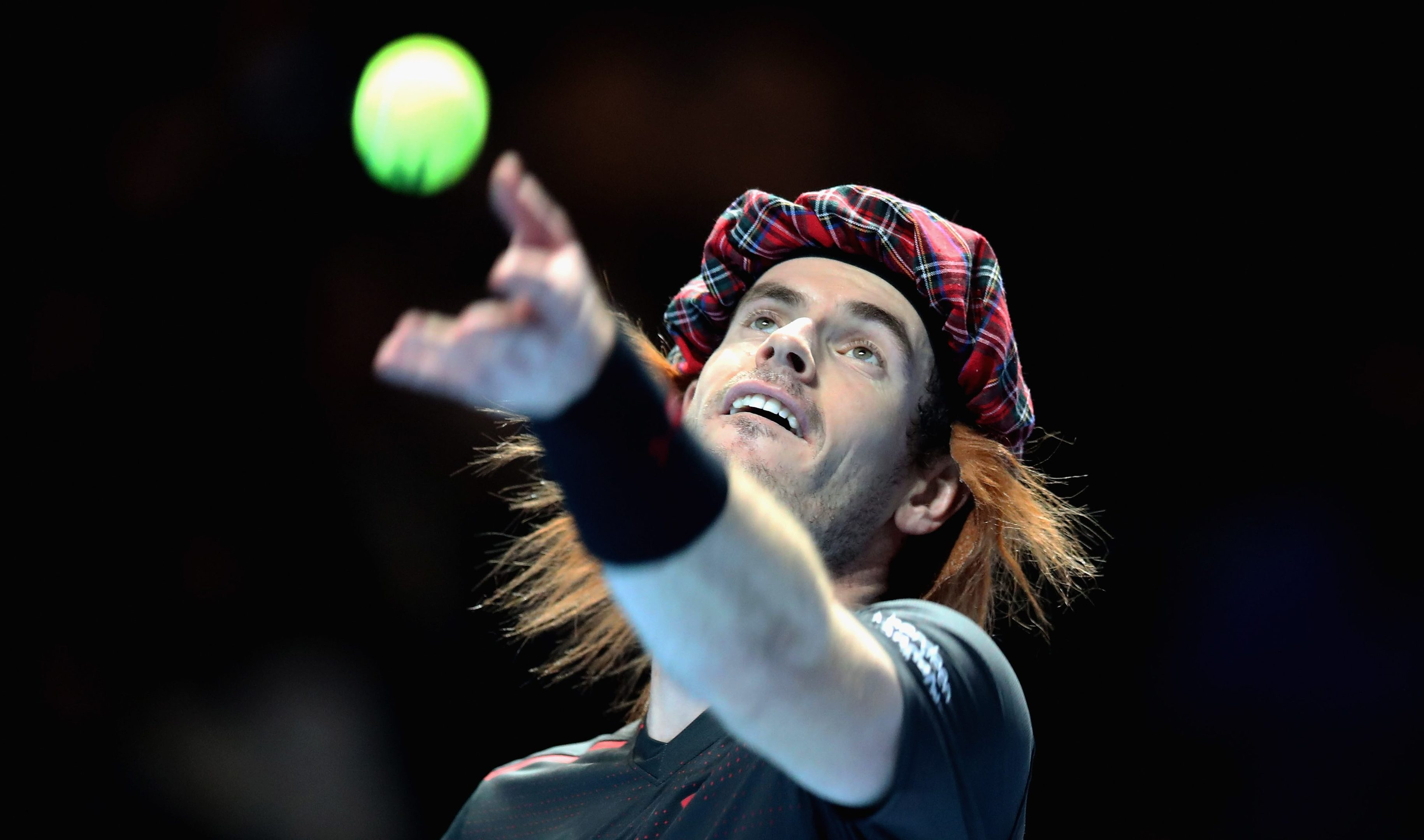 Andy Murray is a fan of tartan (Steve Welsh/Getty Images for Andy Murray Live)