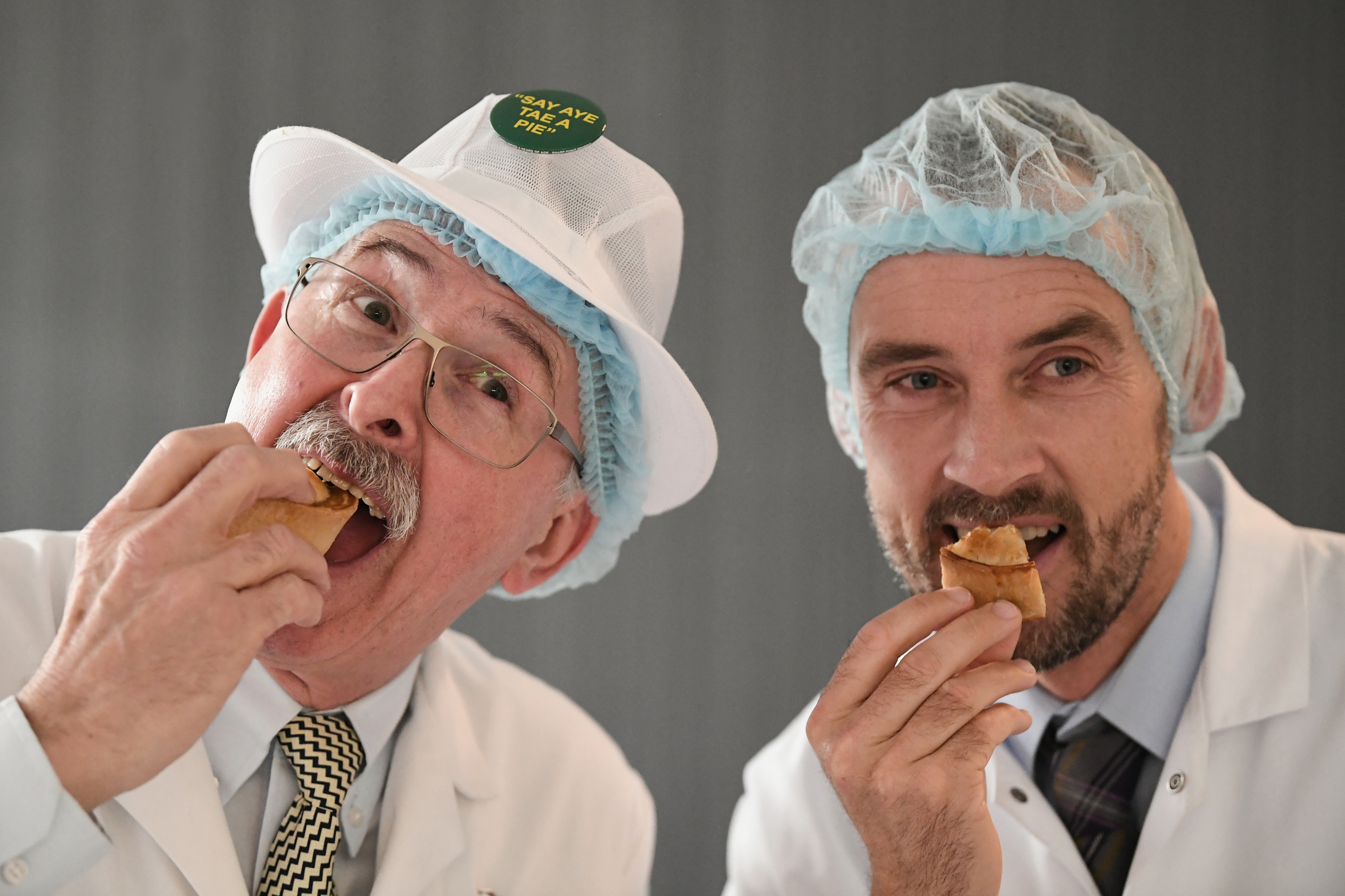 Judges view the entries by Scottish bakers for the 19th World Championships (Jeff J Mitchell/Getty Images)