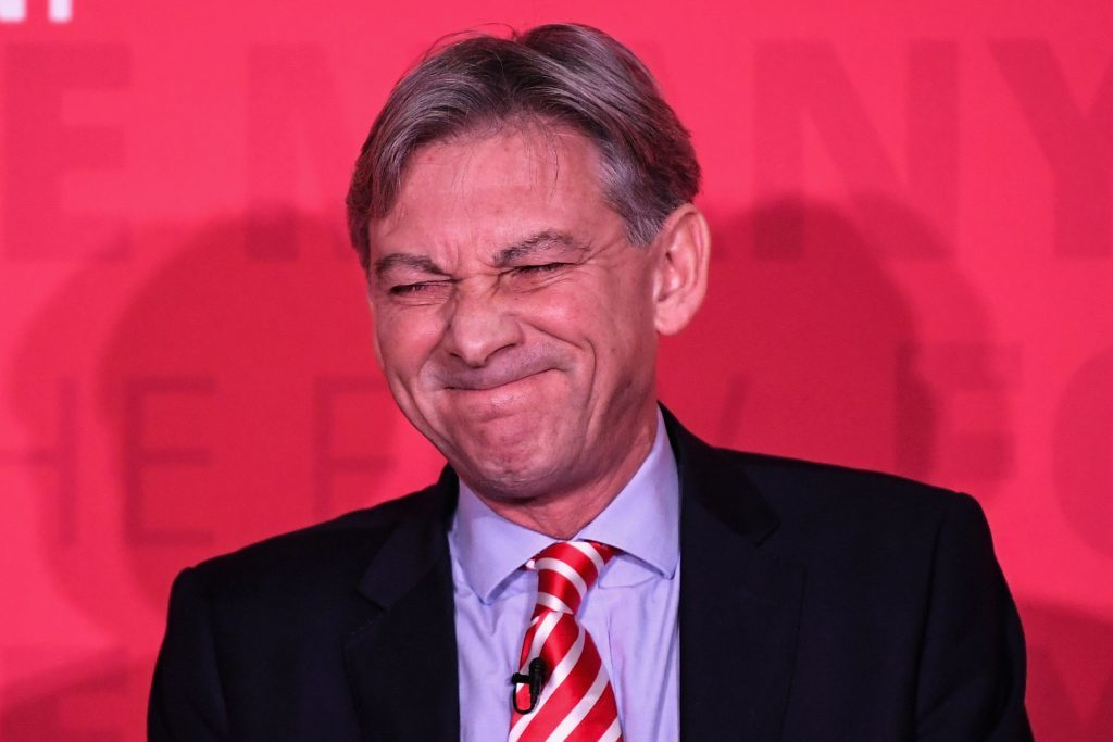 Richard Leonard, the newly elected leader of Scottish Labour (Jeff J Mitchell/Getty Images)