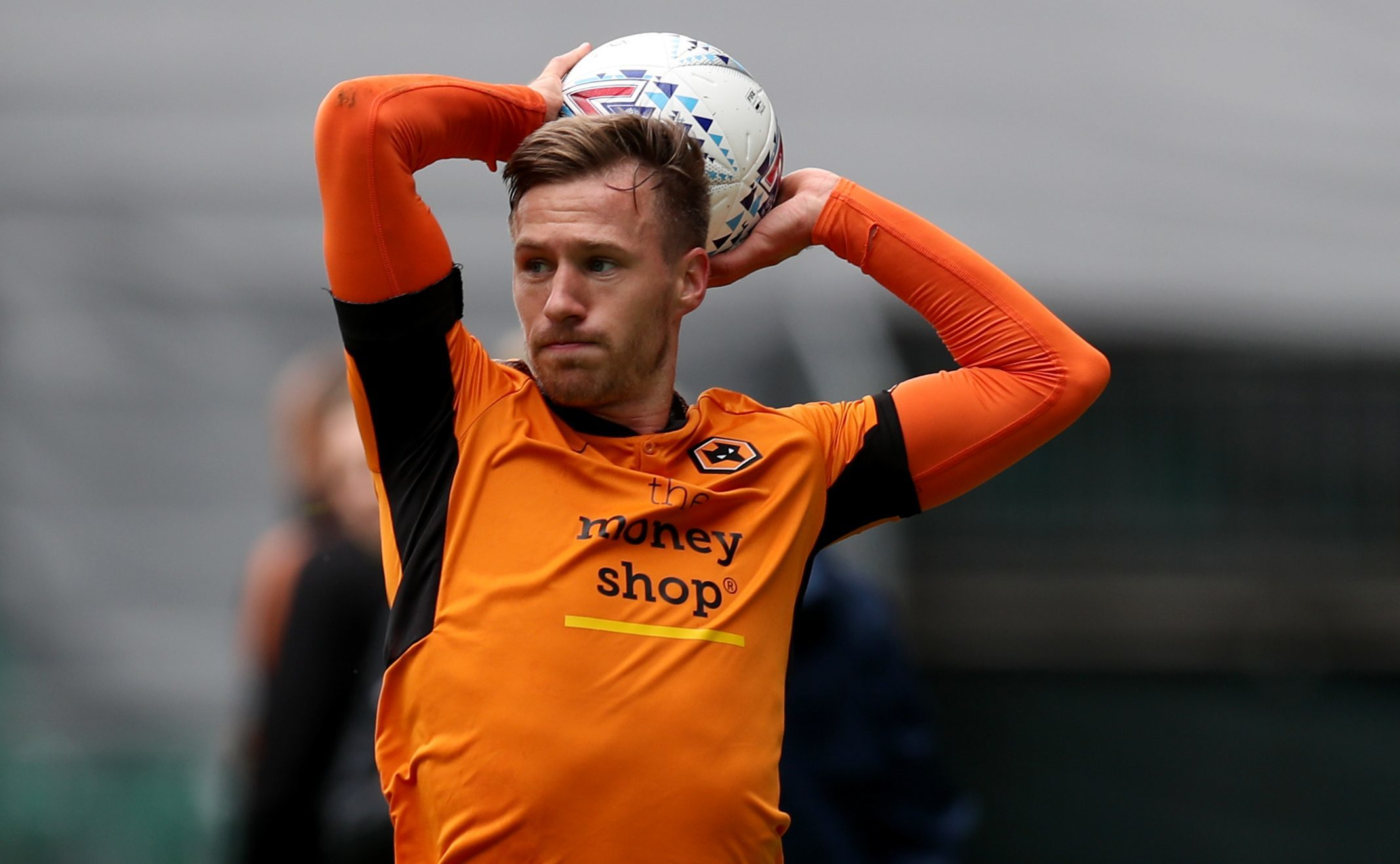 Barry Douglas in action for Wolves (Chris Radburn/PA Wire)