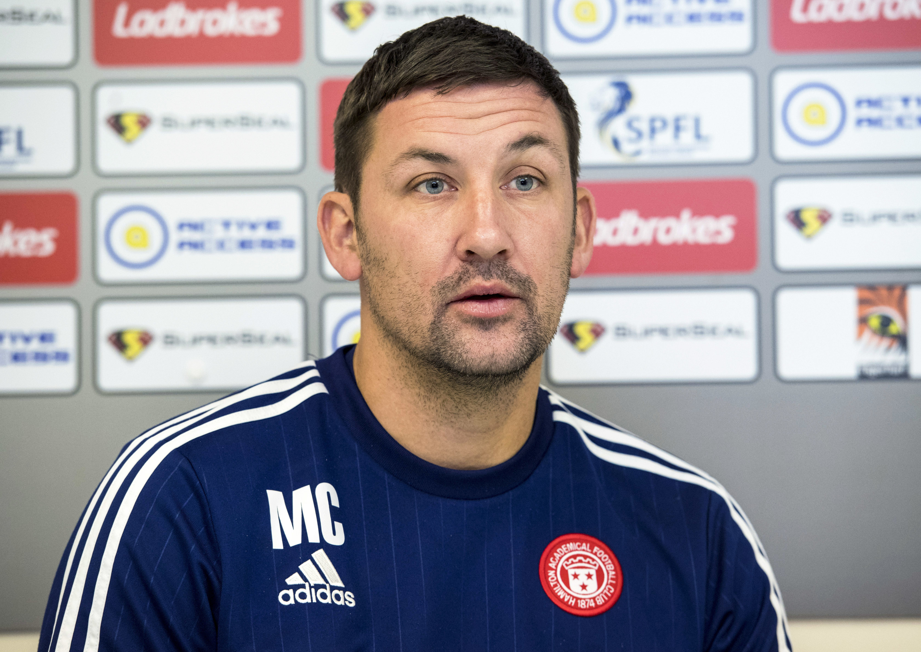 Hamilton manager Martin Canning (SNS Group)