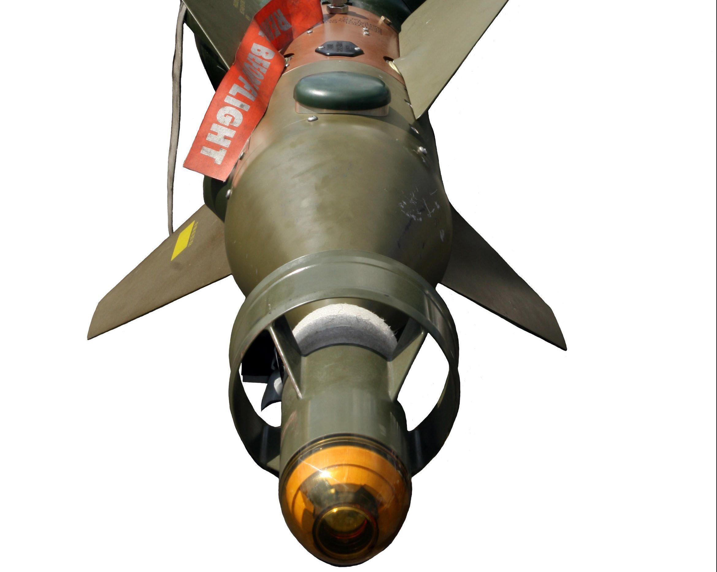 Paveway 1000lb laser guided bomb