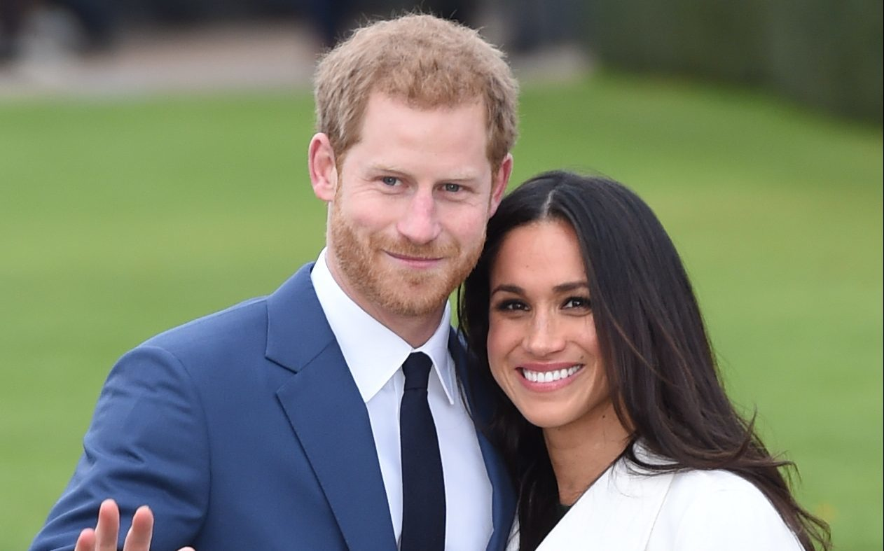Prince Harry and actress Meghan Markle (Eddie Mulholland-WPA Pool/Getty Images)