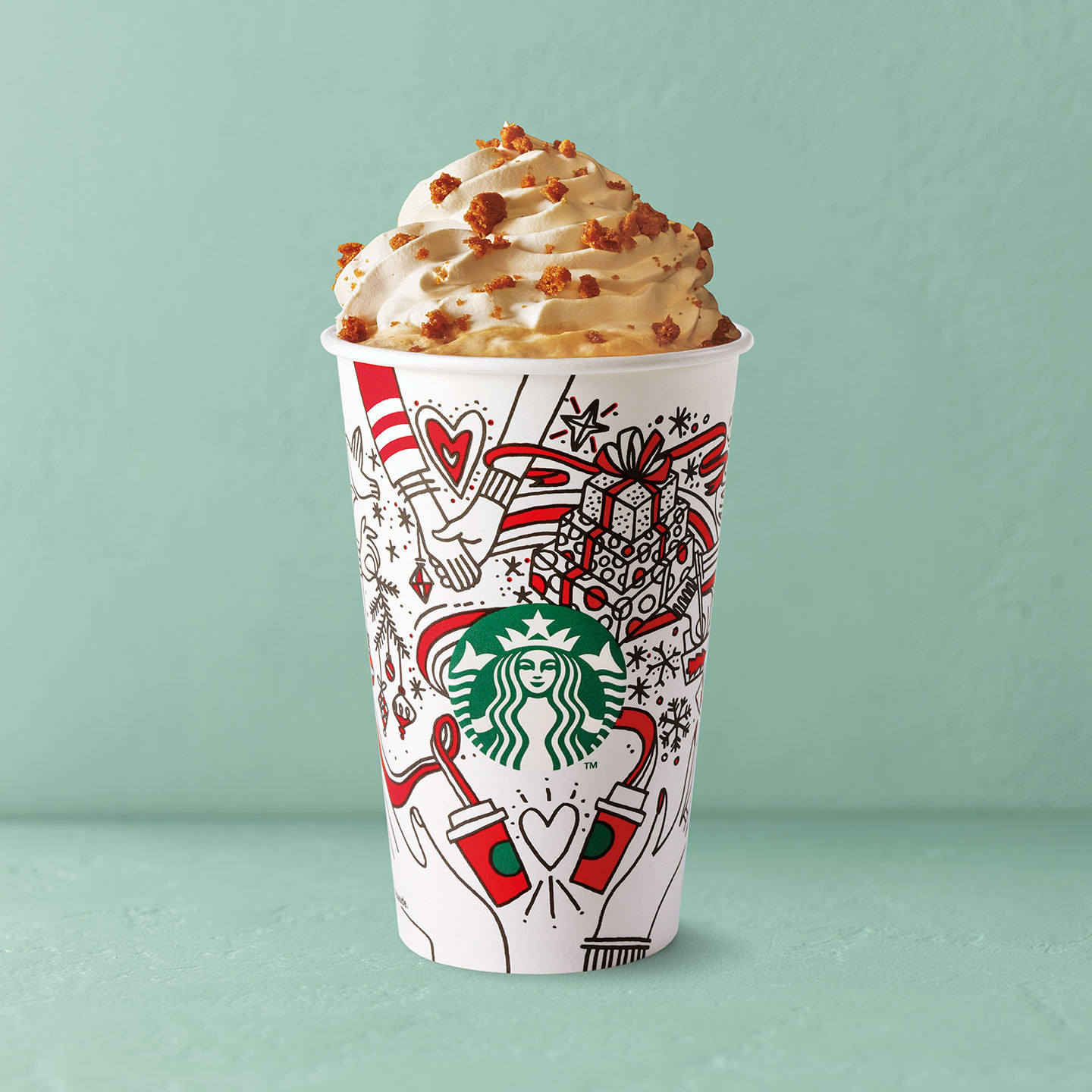 Starbucks Launches New Colour-in Christmas Cups And Full