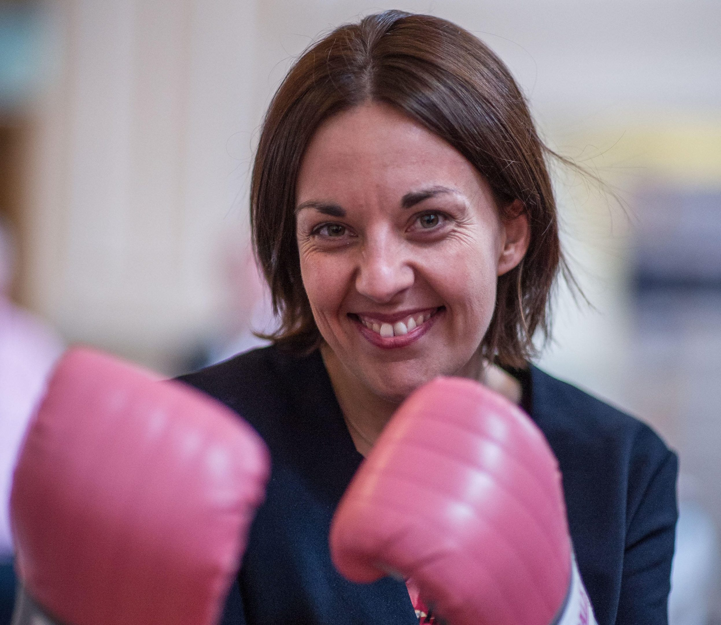 Former Scottish Labour Leader Kezia Dugdale (Steven Scott Taylor / Alamy)
