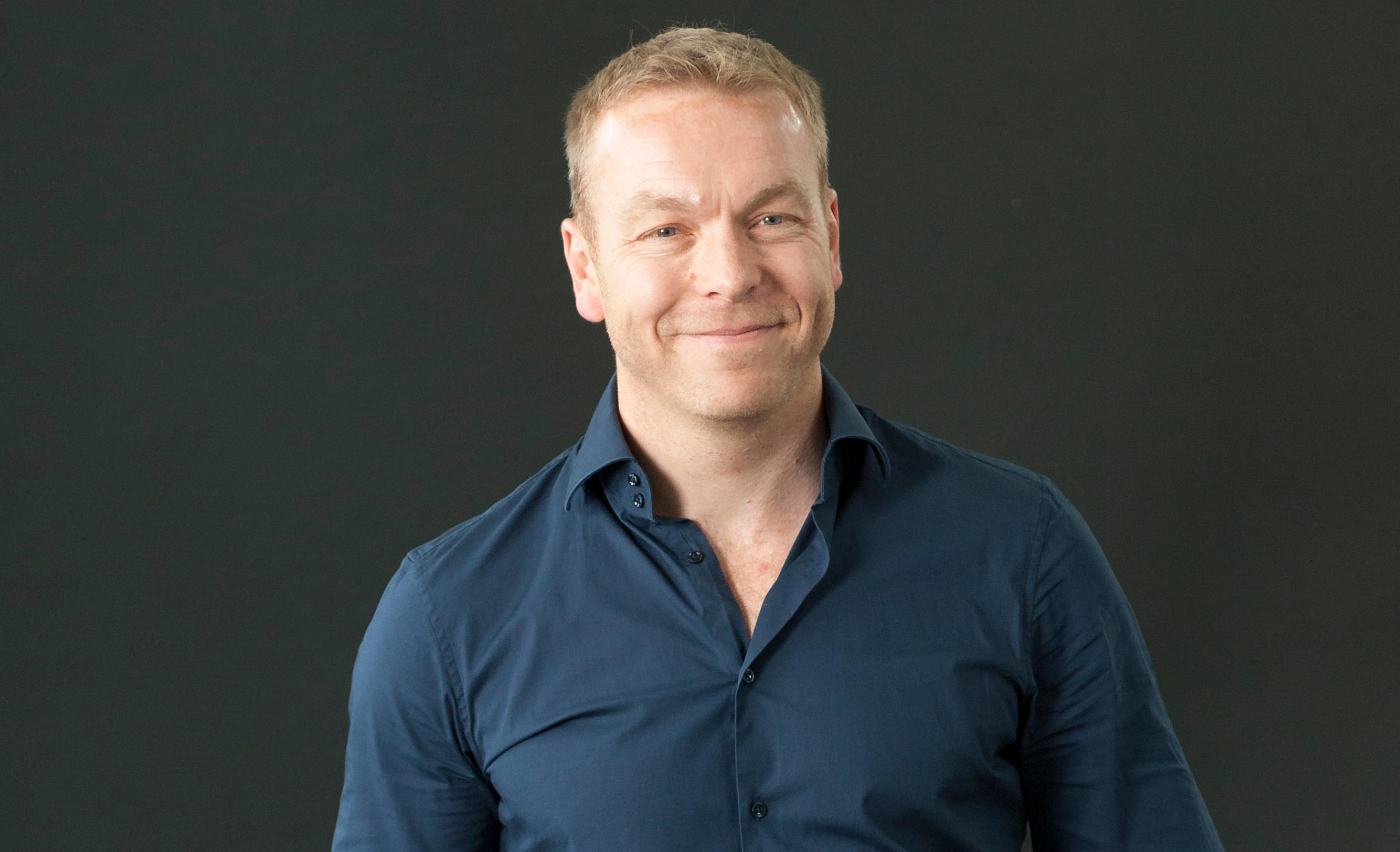 Former track cyclist Chris Hoy appearing at the Edinburgh International Book Festival (Lorenzo Dalberto/Alamy Live News)