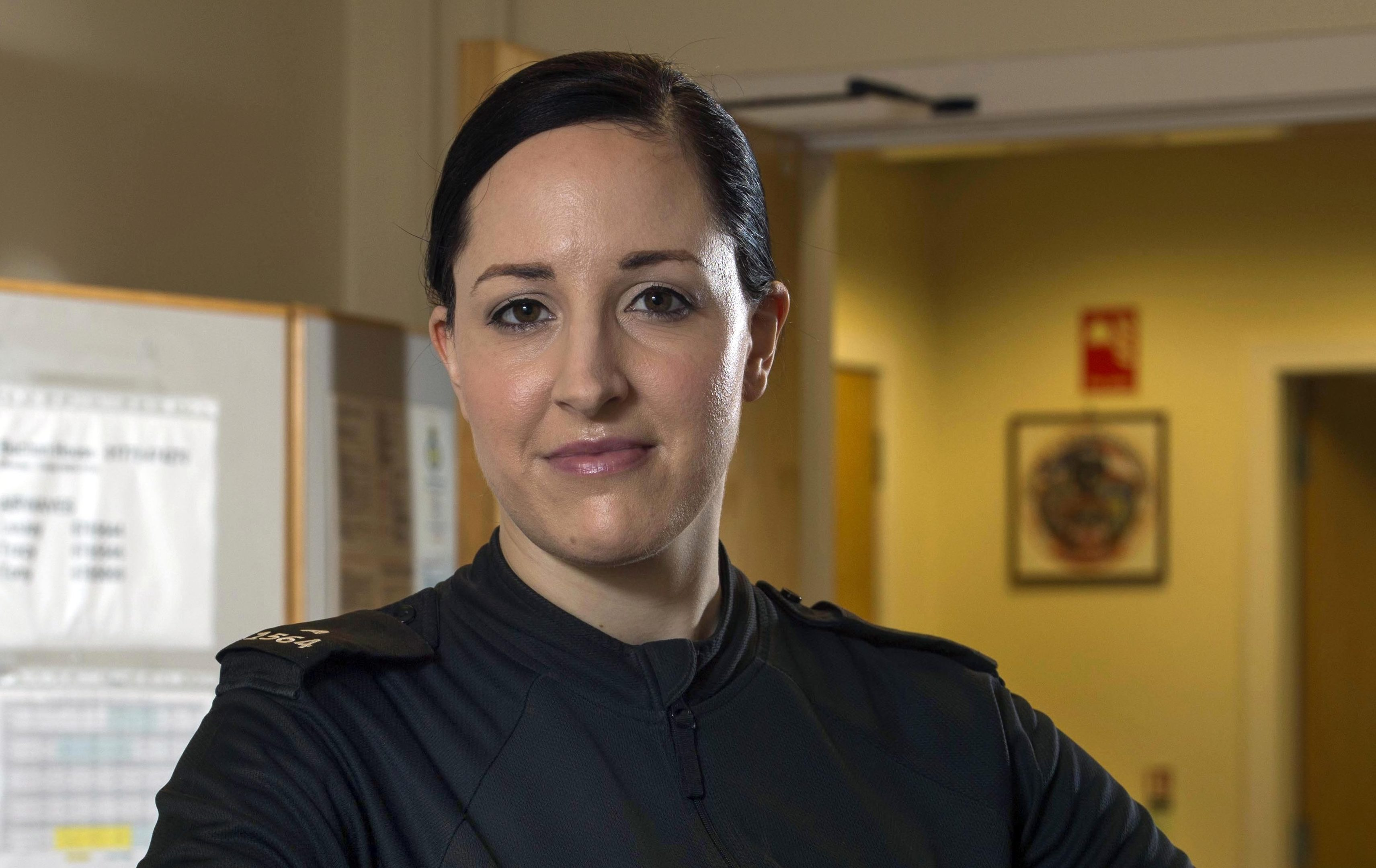 PC Carolyn Wright fought in vain to save Kirsten Duguid after the tragic accident (Trevor Martin)