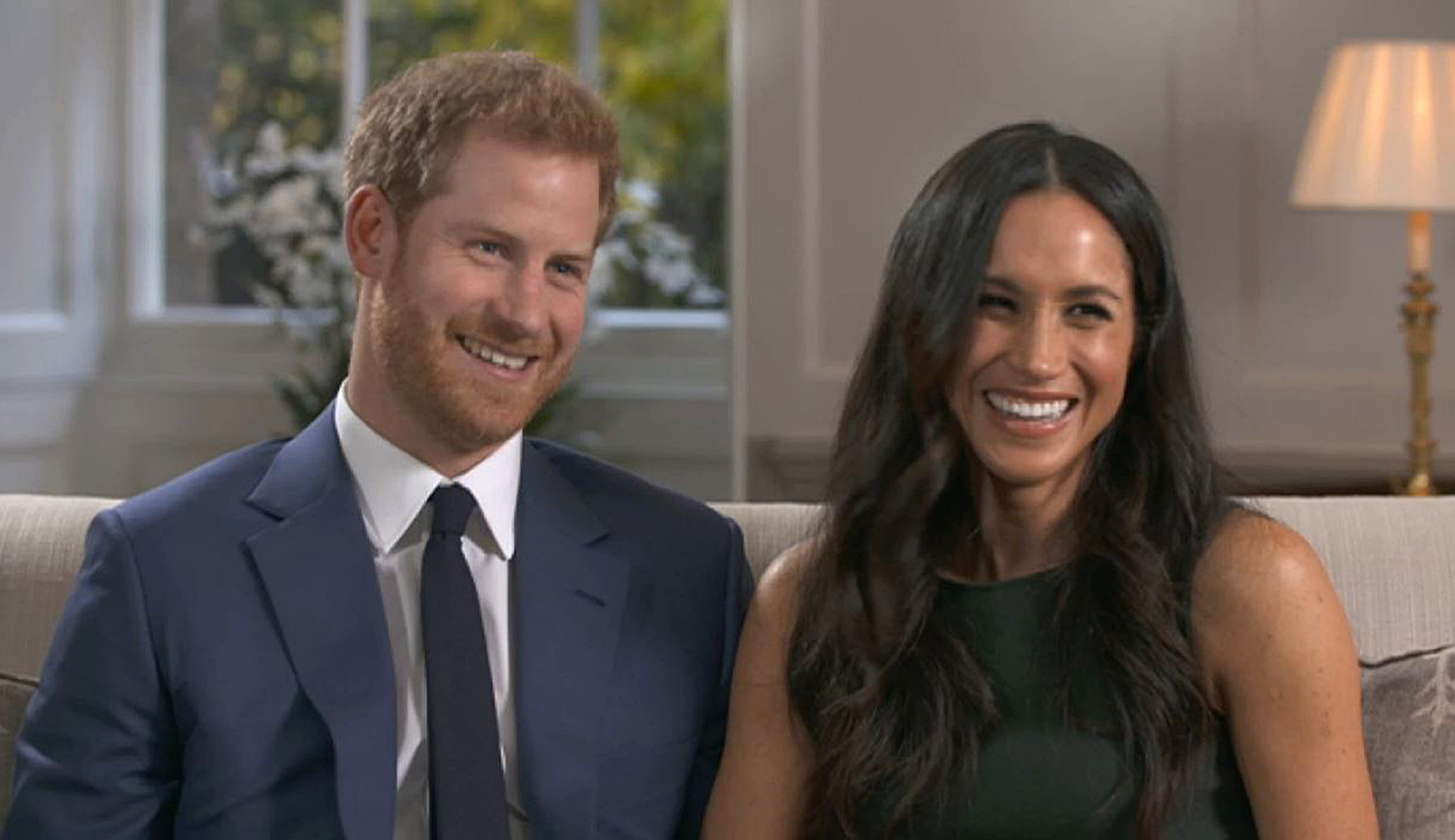 Prince Harry and Meghan Markle (BBC/PA Wire)