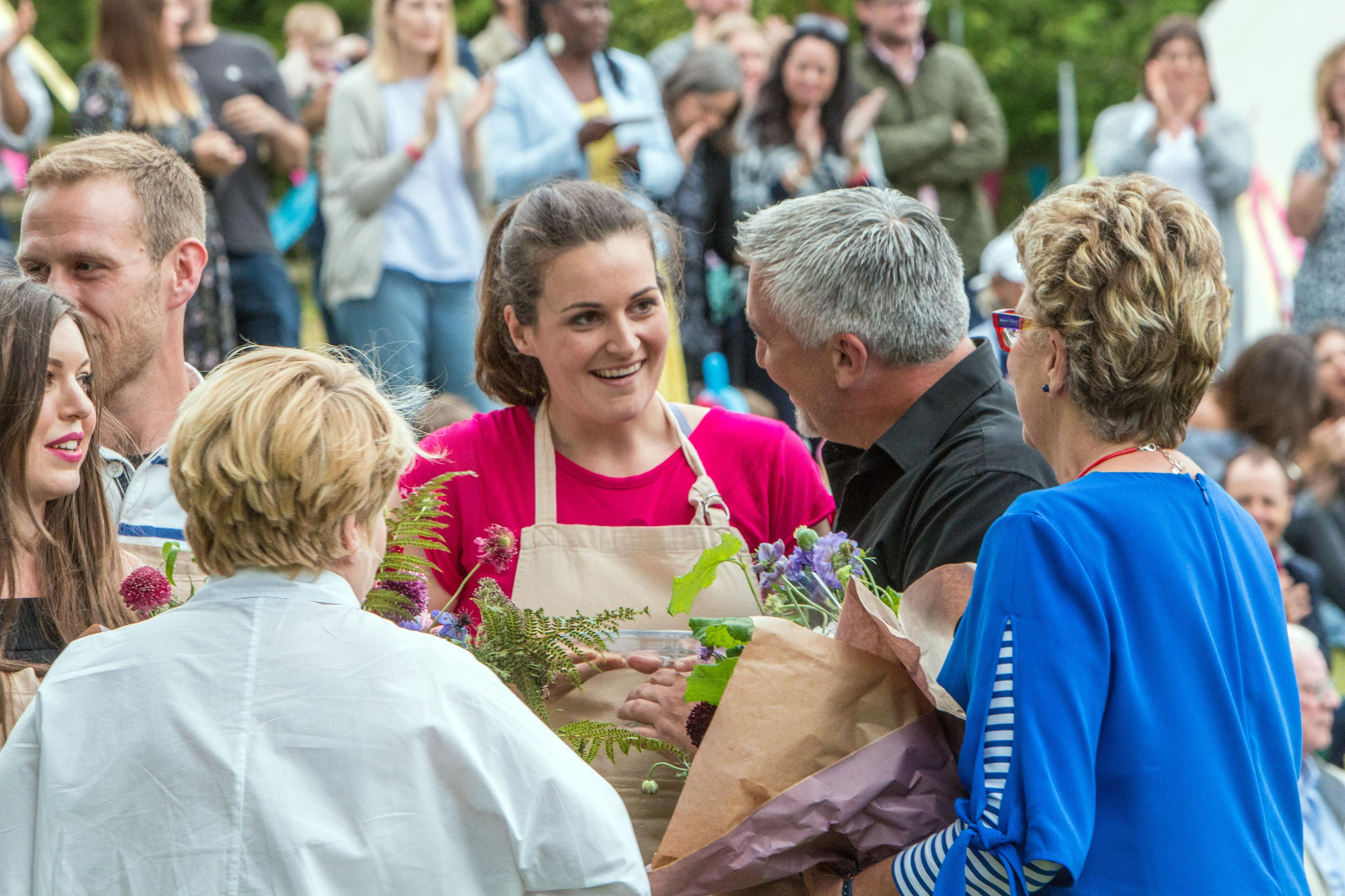 Sophie Faldo, who has been crowned the winner of The Great British Bake Off 2017. (Mark Bourdillon/Channel 4 Television/PA Wire)