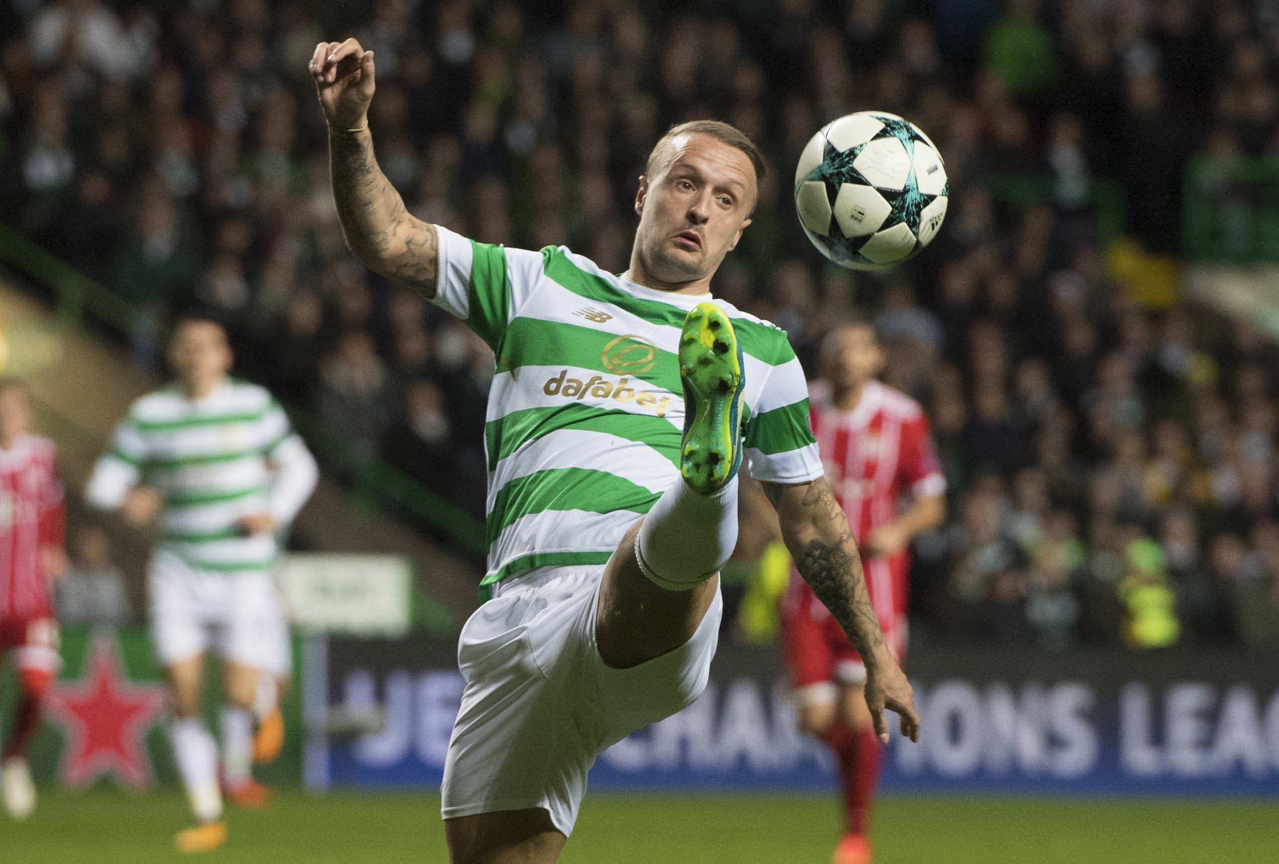 Leigh Griffiths in action for Celtic (SNS)
