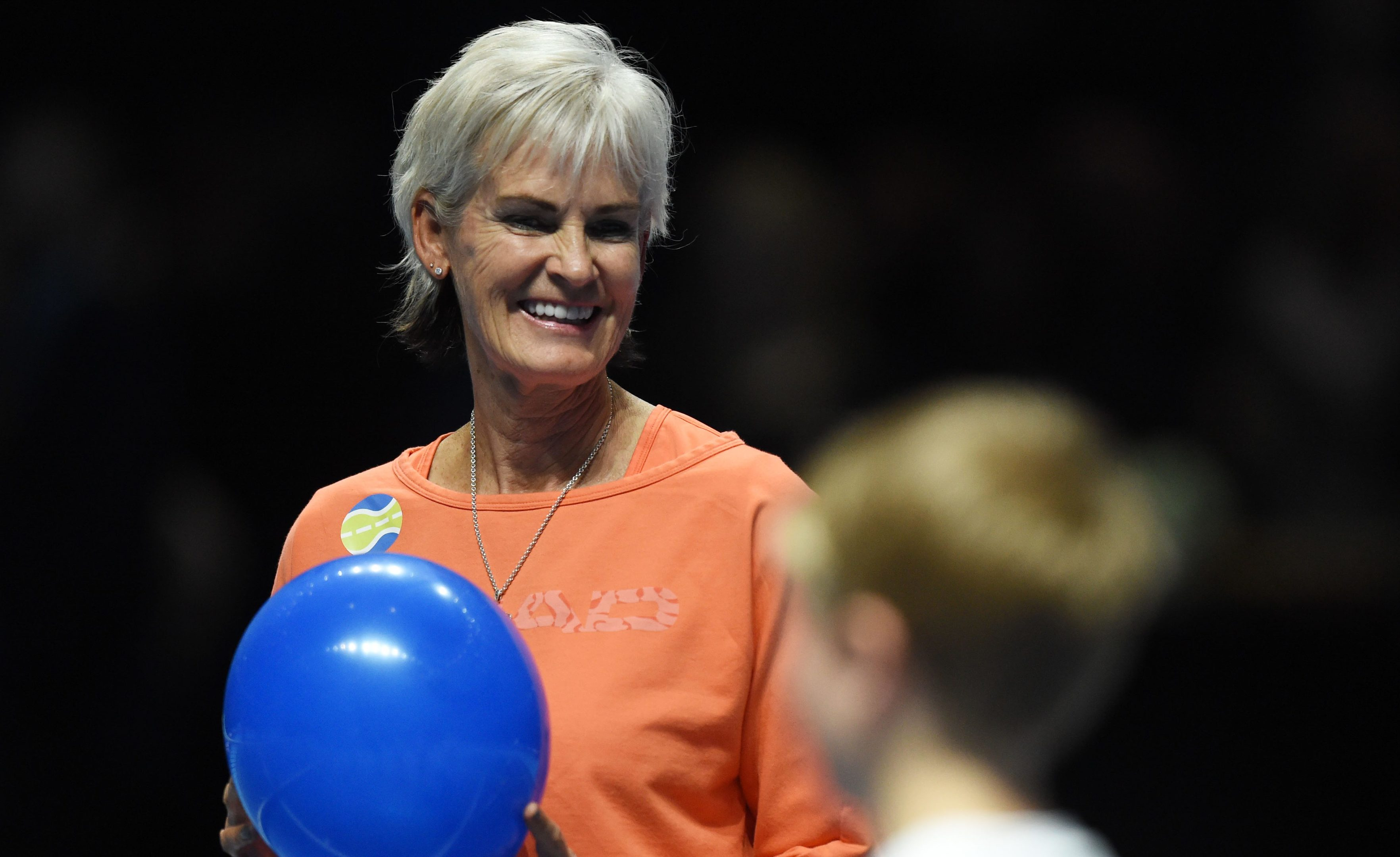 Judy Murray is pictured at this week's Andy Murray Live event (SNS Group / Ross Parker)