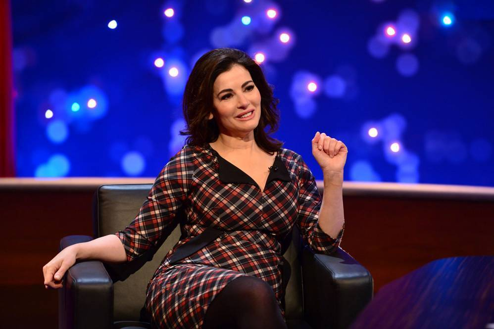 Nigella Lawson appearing on The Michael McIntyre Chat Show (Mike Productions/PA Wire)