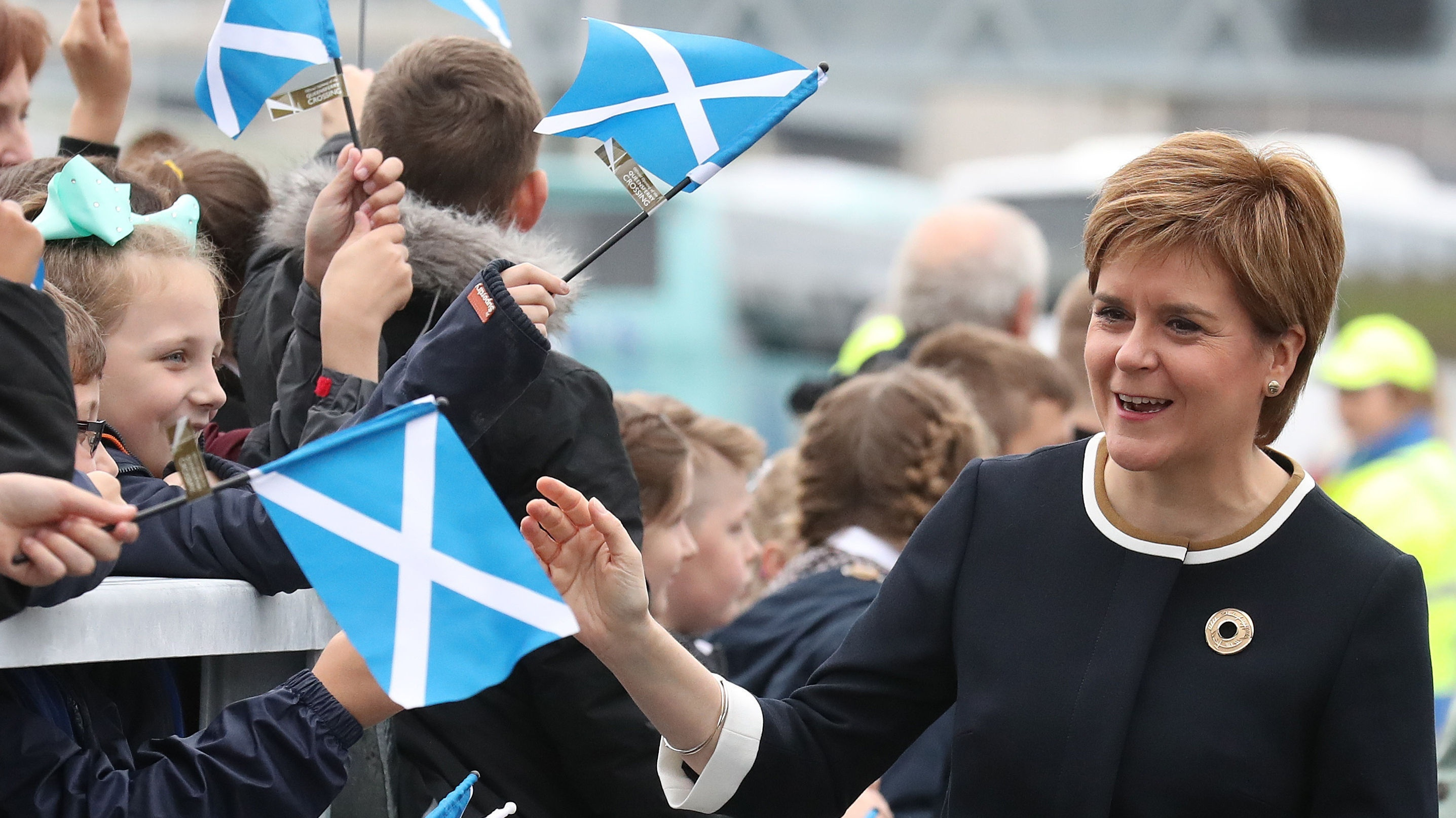 Nicola Sturgeon is calling on Scots to mark St Andrew's Day with an act of kindness (Andrew Milligan/PA)