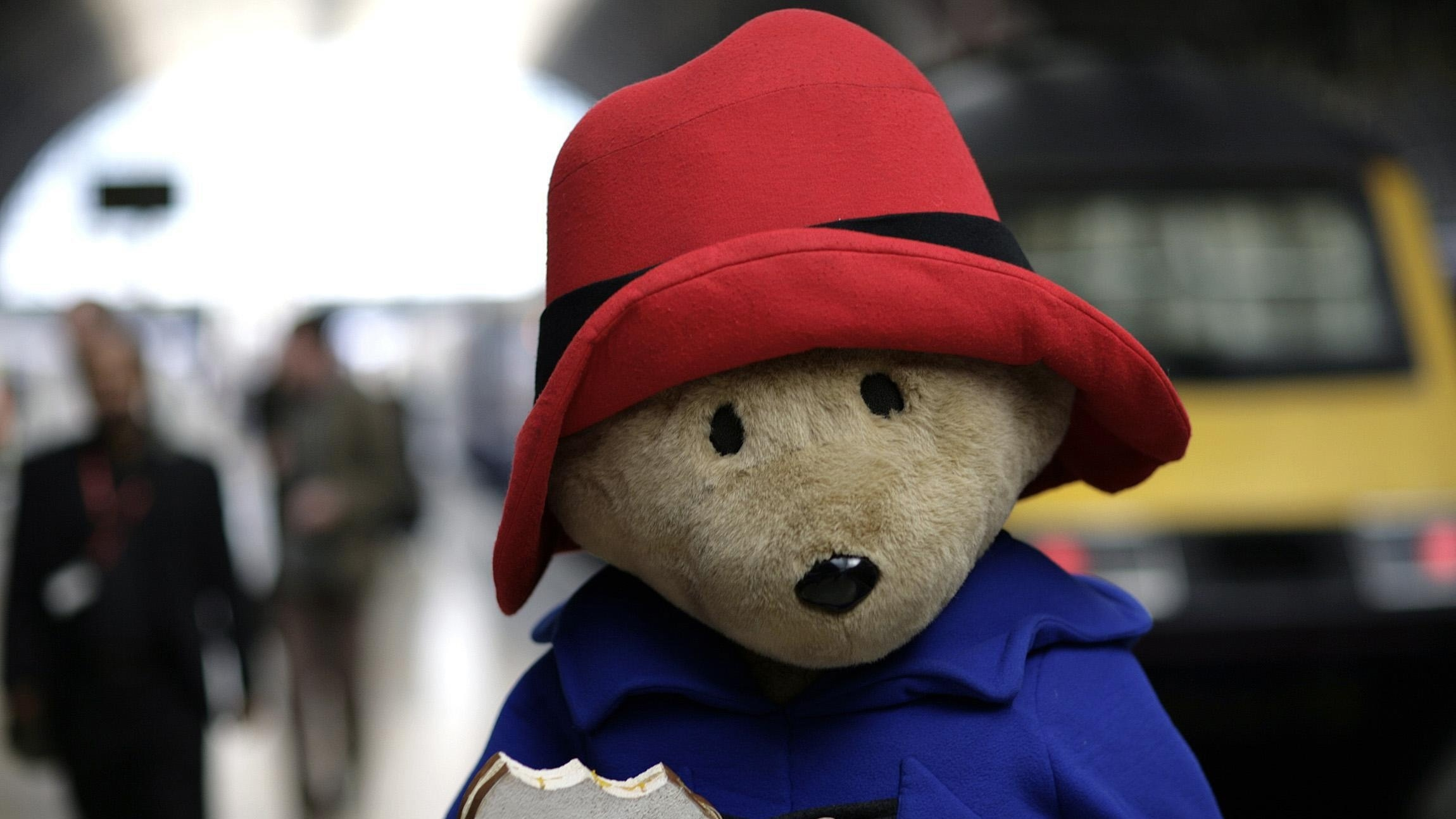The new Marks and Spencers Christmas ad stars Paddington Bear (Edmond Terakopian/PA)