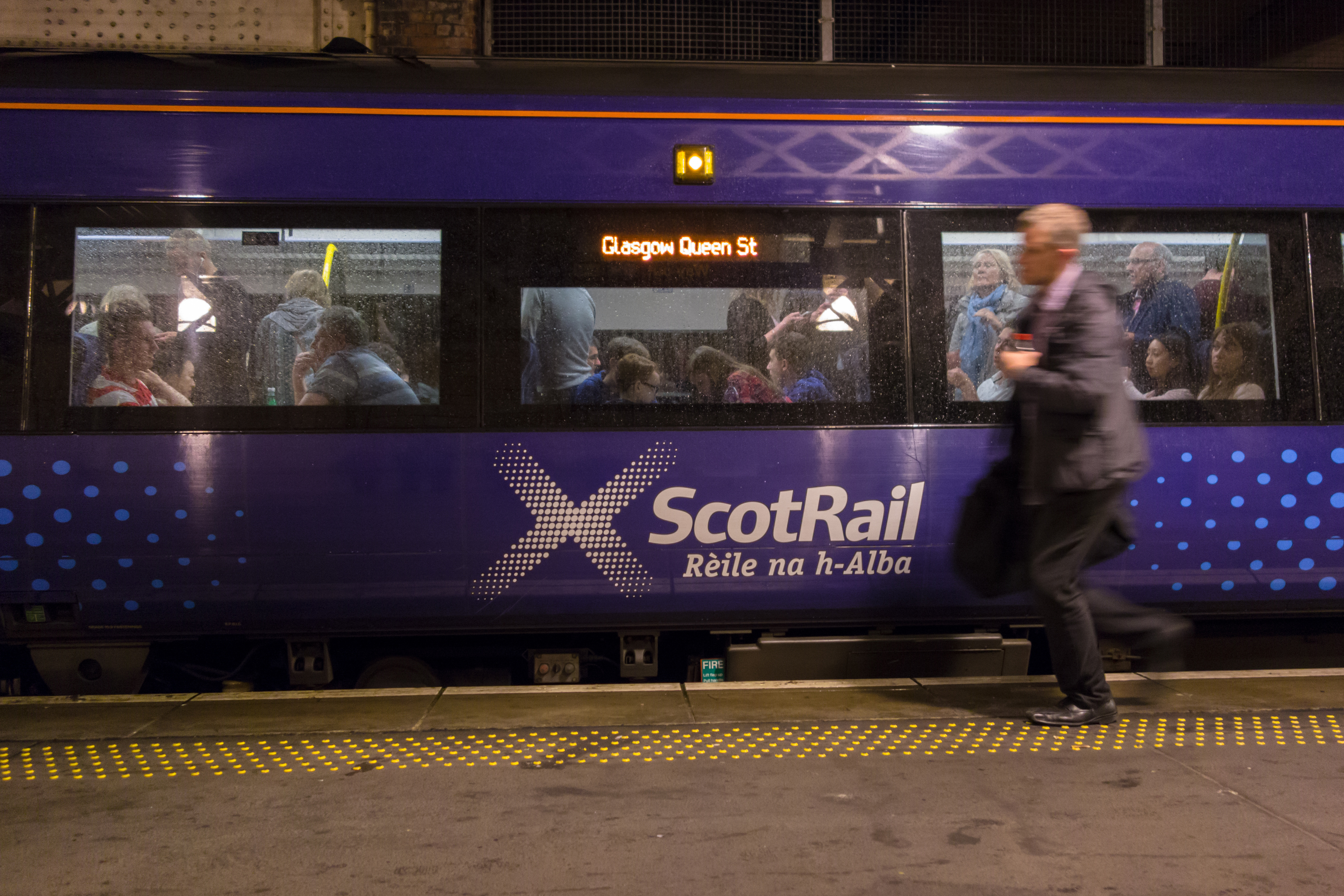 Edinburgh and Glasgow trains are beginning to resume service (iStock)