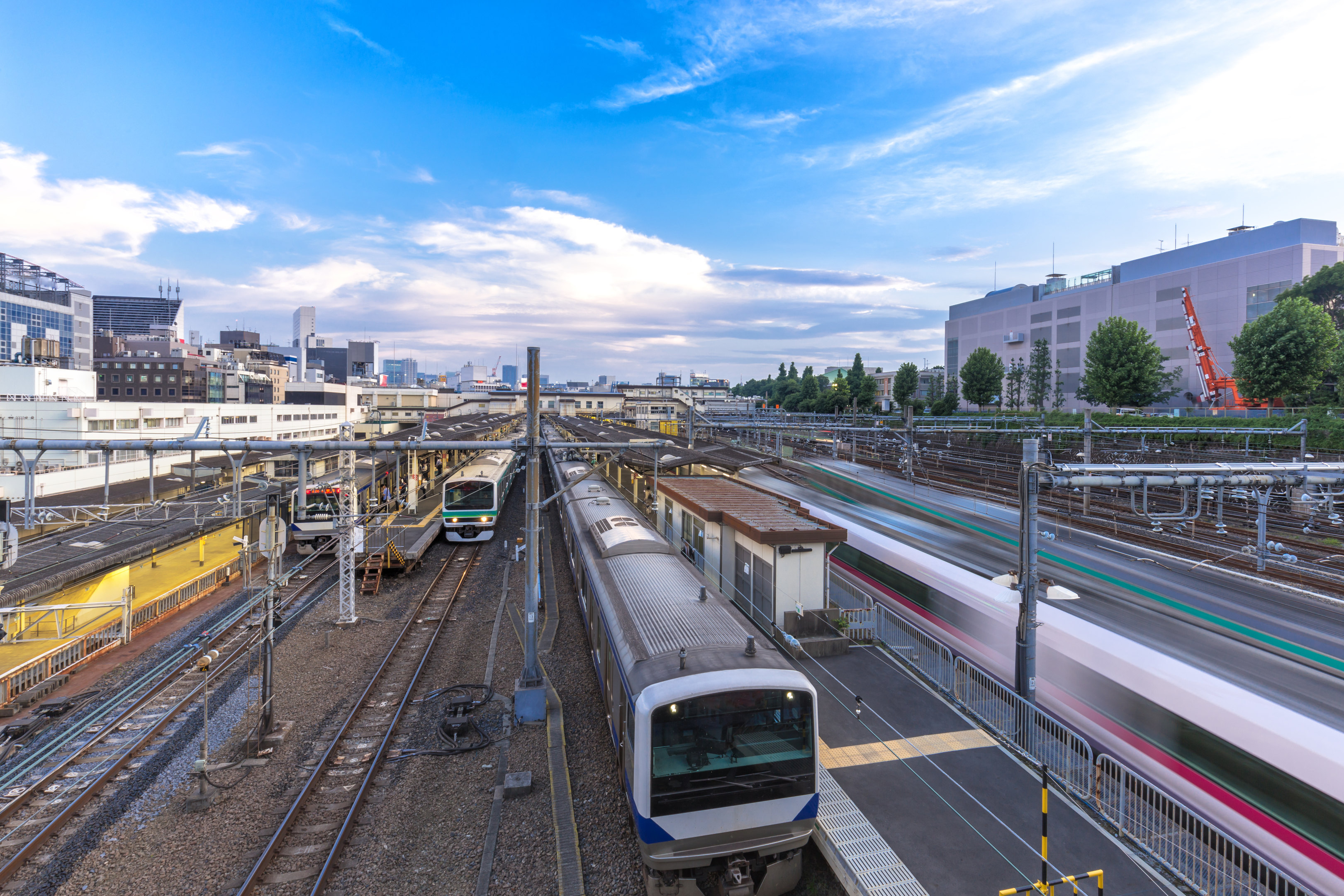 A railway station in Tokyo, Japan (Getty Images)