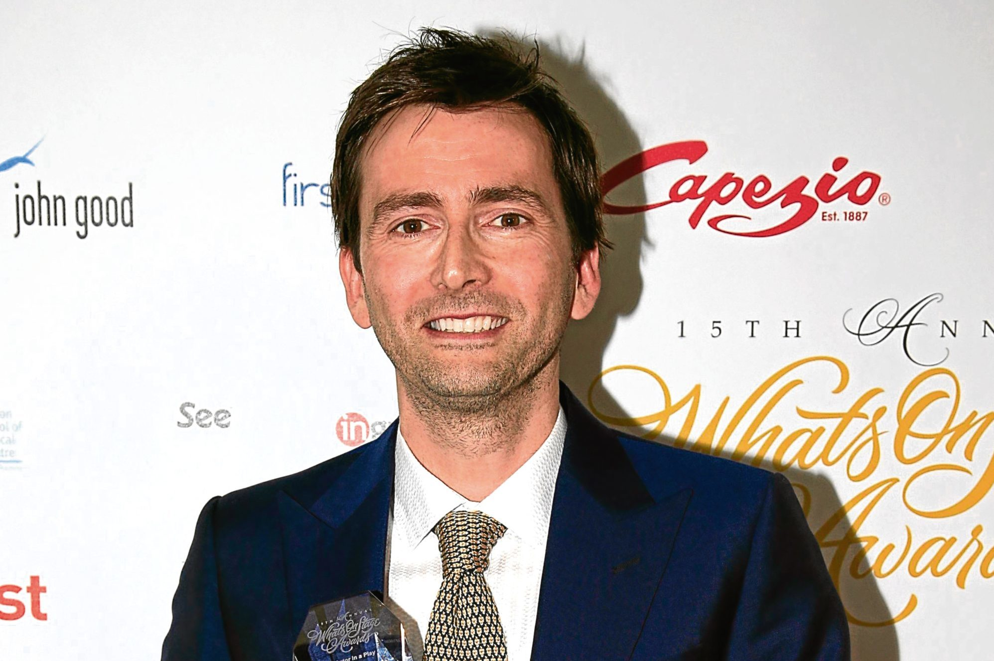 David Tennant (Jonathan Brady/PA Wire)
