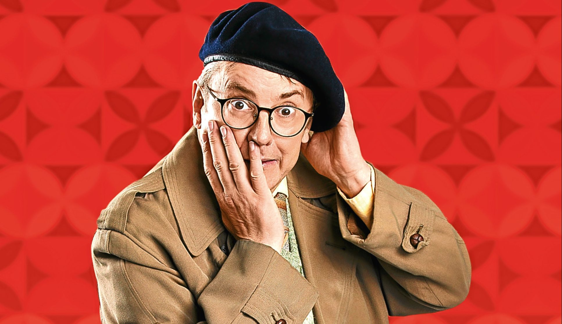 Joe Pasquale plays Frank Spencer in the show