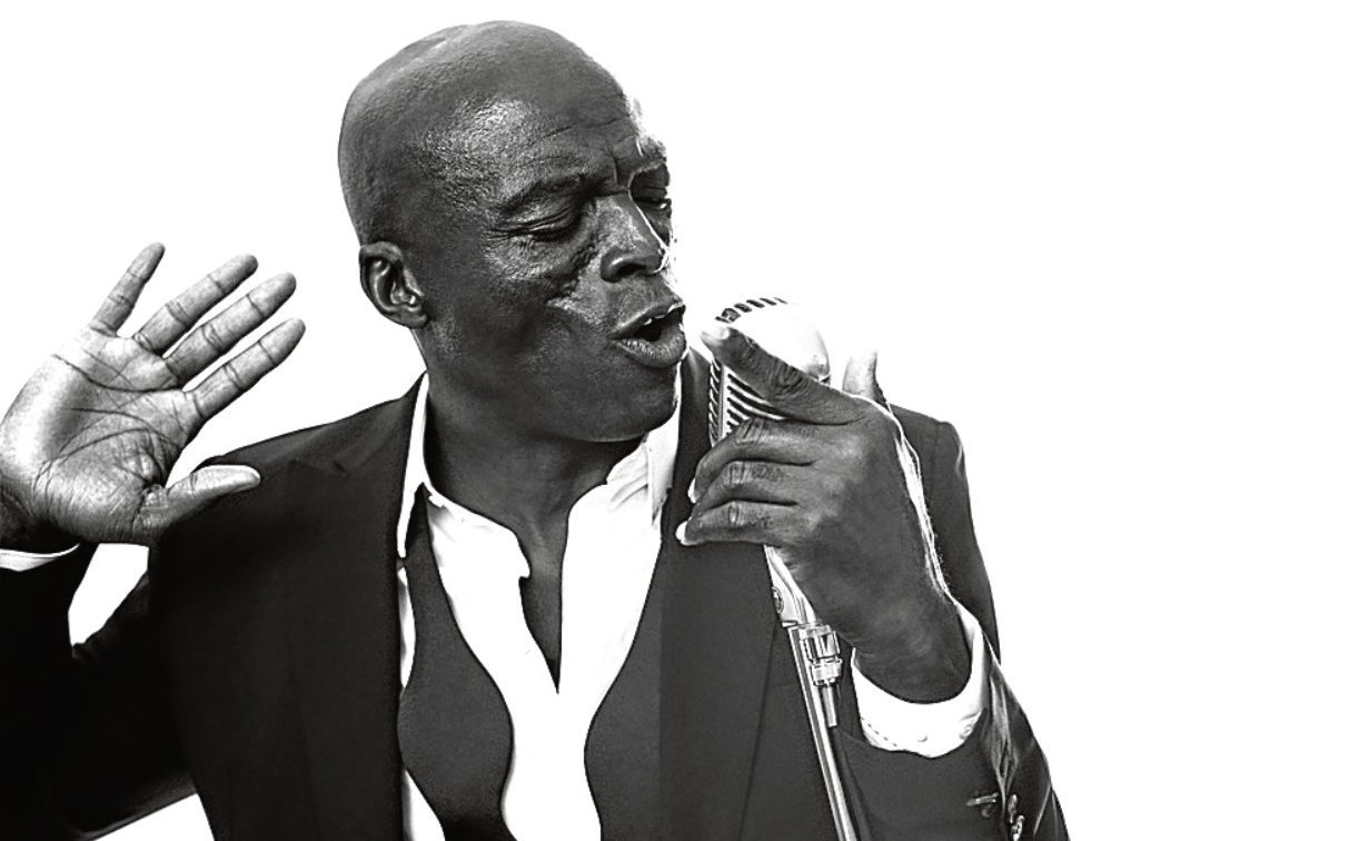 Seal covers some of the 20th Century's finest jazz songs on his latest record, Standards (Jan Welters)