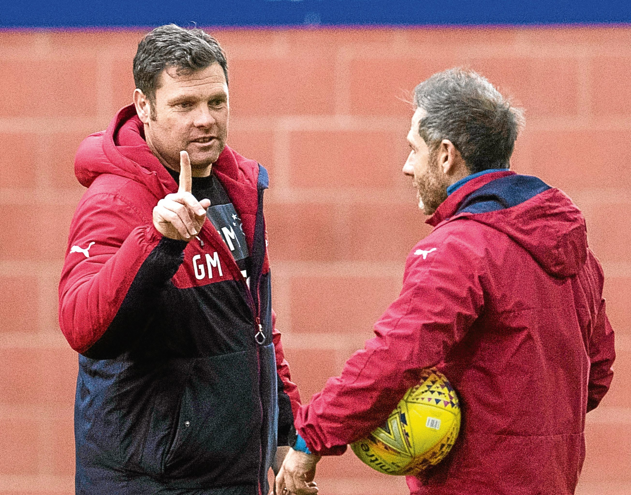 Rangers interim manager Graeme Murty (left) (SNS)