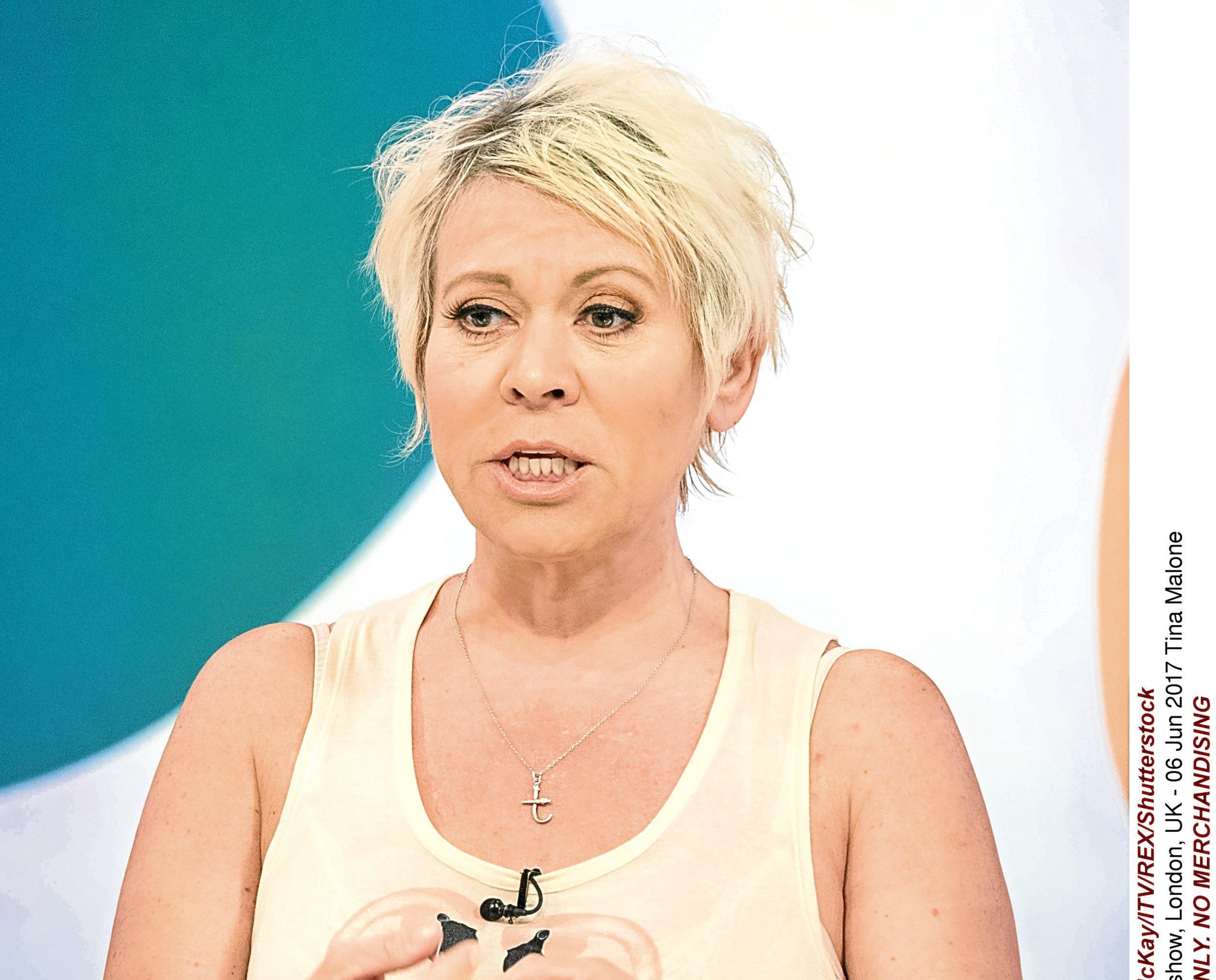 Tina Malone (Ken McKay/ITV/REX/Shutterstock)