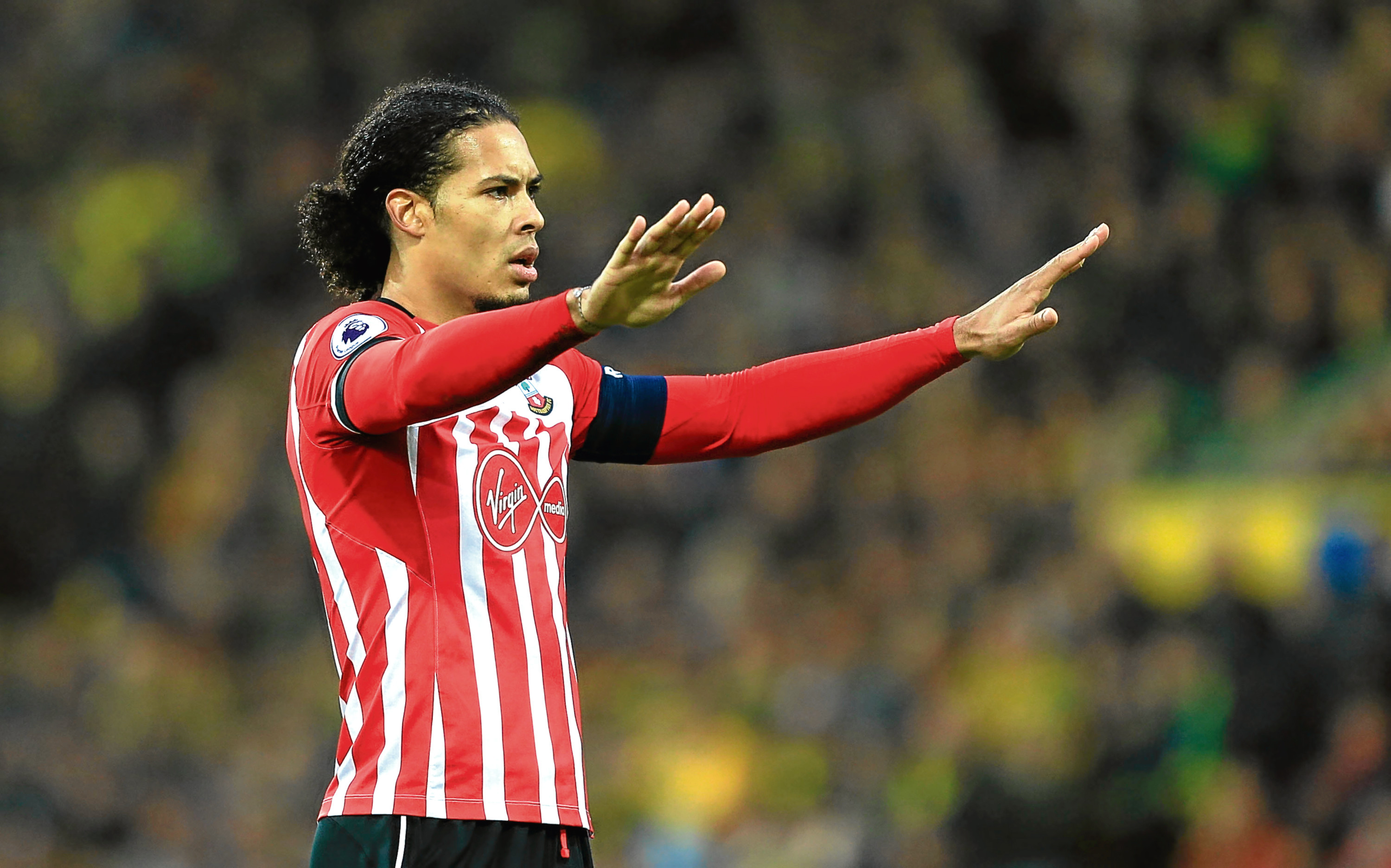 Dutchman Virgil van Dijk is finally swapping St Mary's for Anfield (Stephen Pond / Getty Images)