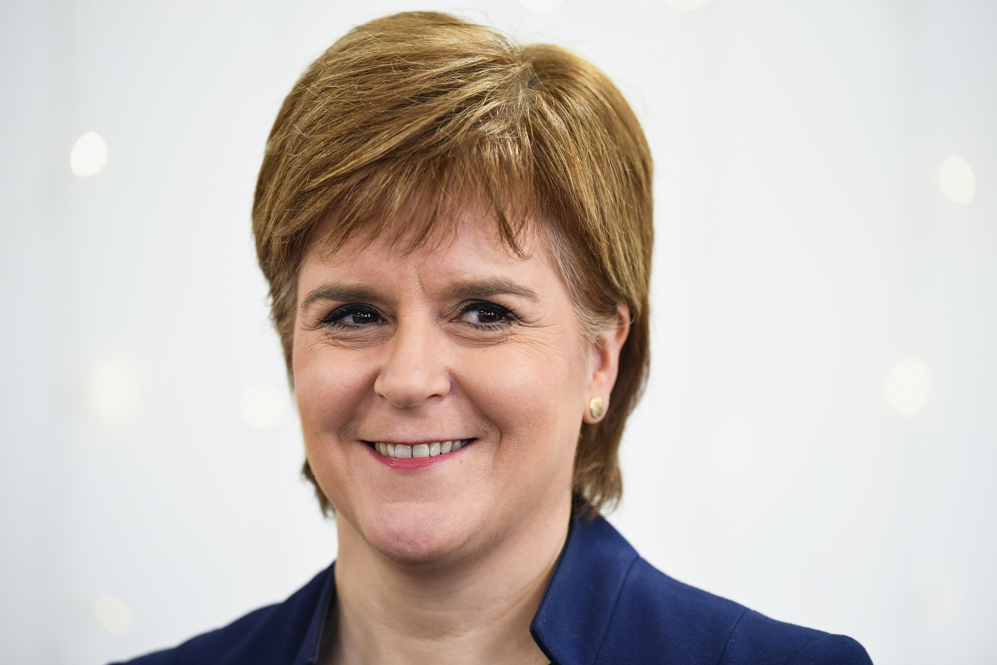 Scottish First Minister Nicola Sturgeon (Jeff J Mitchell - WPA Pool/Getty Images)