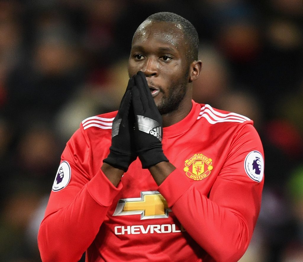 Romelu Lukaku of Manchester United (Michael Regan/Getty Images)
