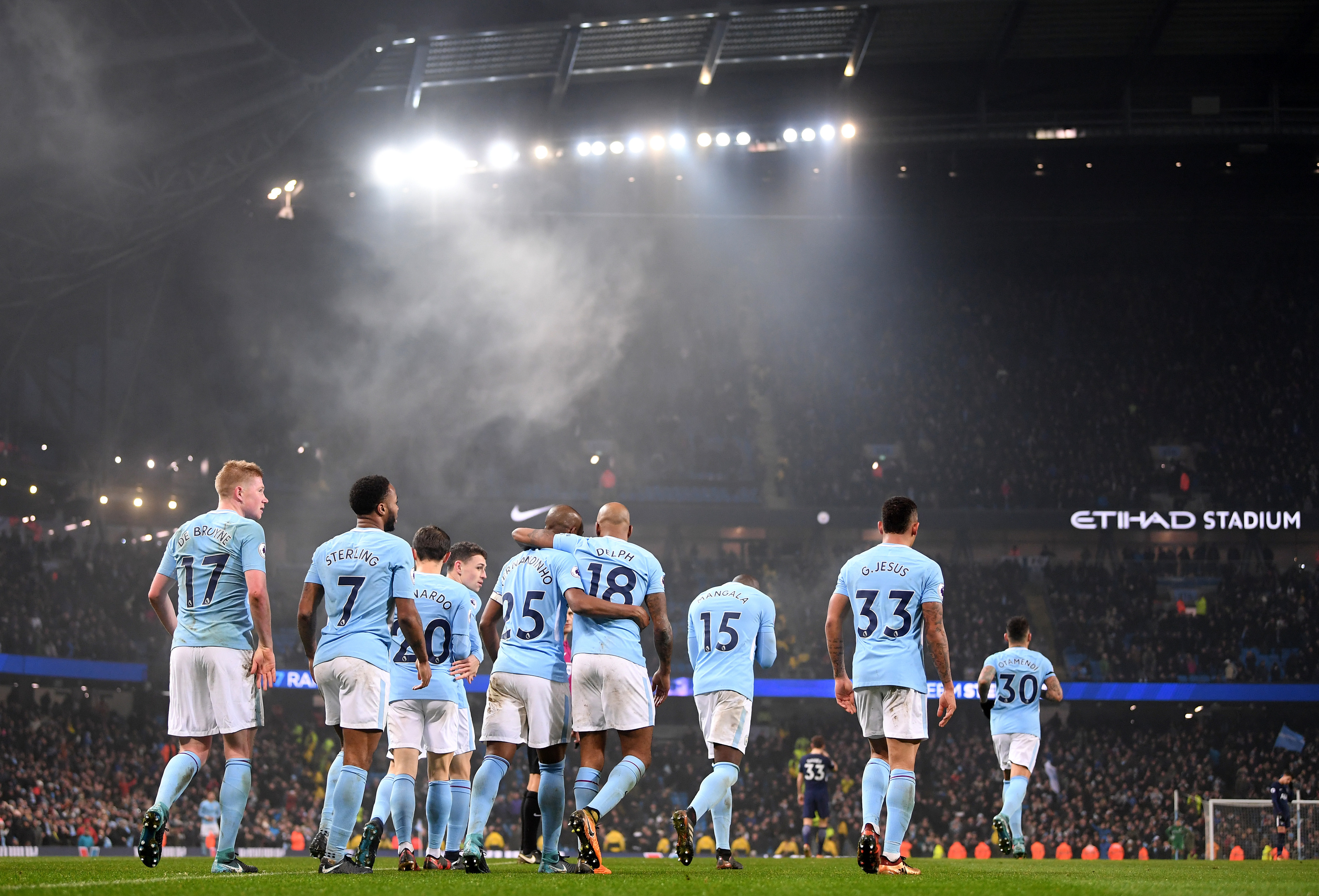 Manchester City are the top team so far (Laurence Griffiths/Getty Images)