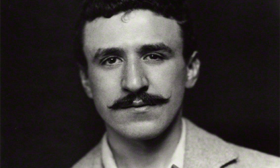 Charles Rennie Mackintosh portrait by James Craig Annan (National Portrait Gallery London)