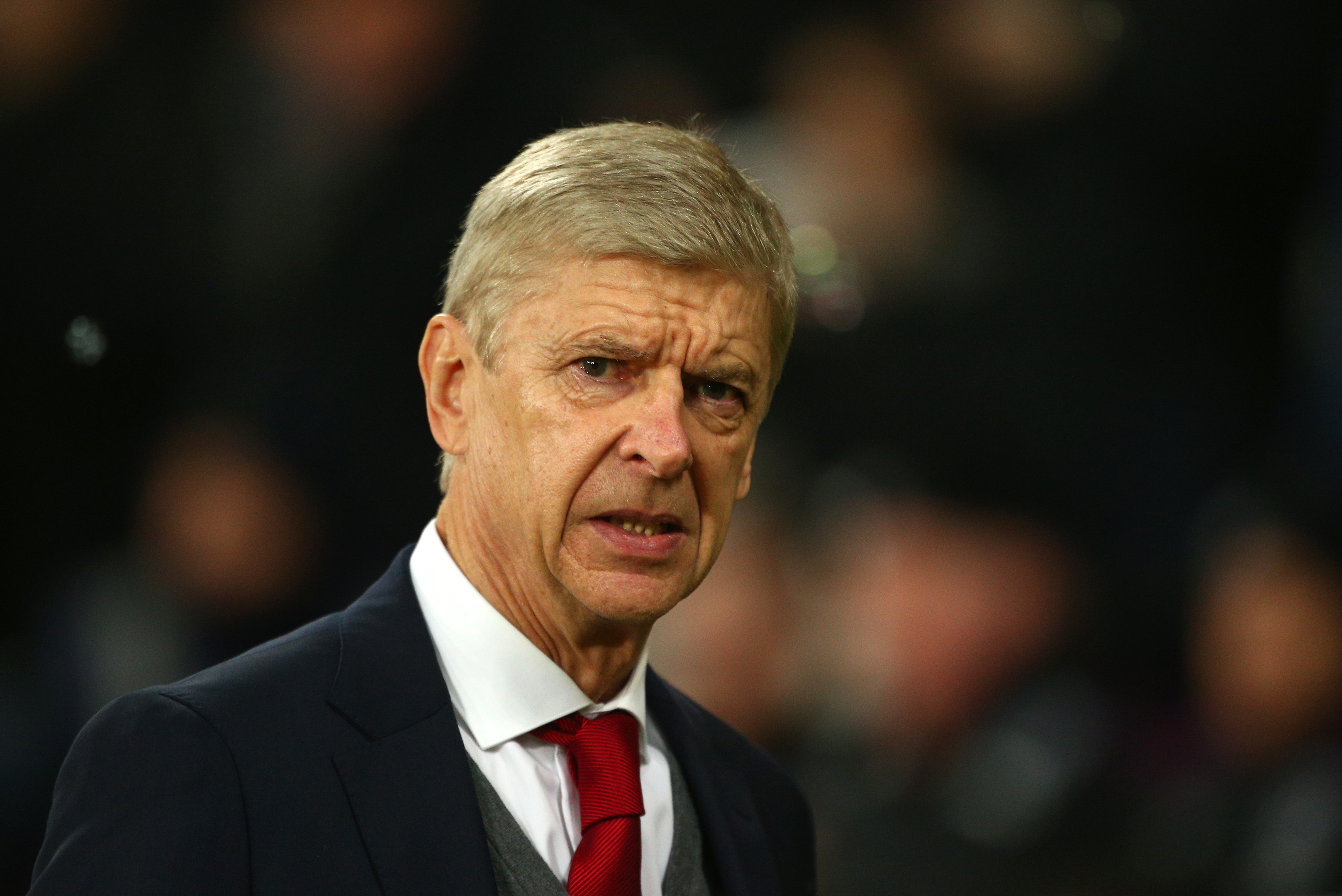 Arsene Wenger, Manager of Arsenal (Charlie Crowhurst/Getty Images)