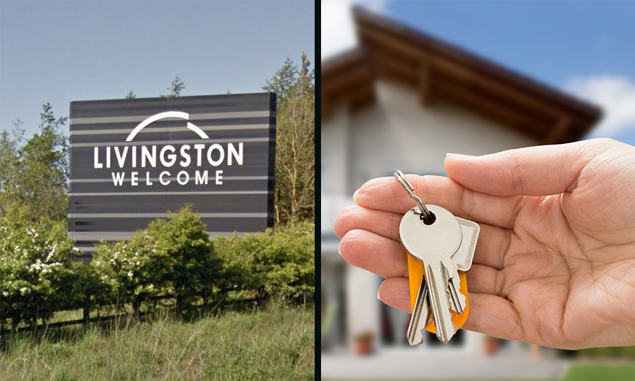 Homes sold quickly in Livingston this year (Google / Getty Images)