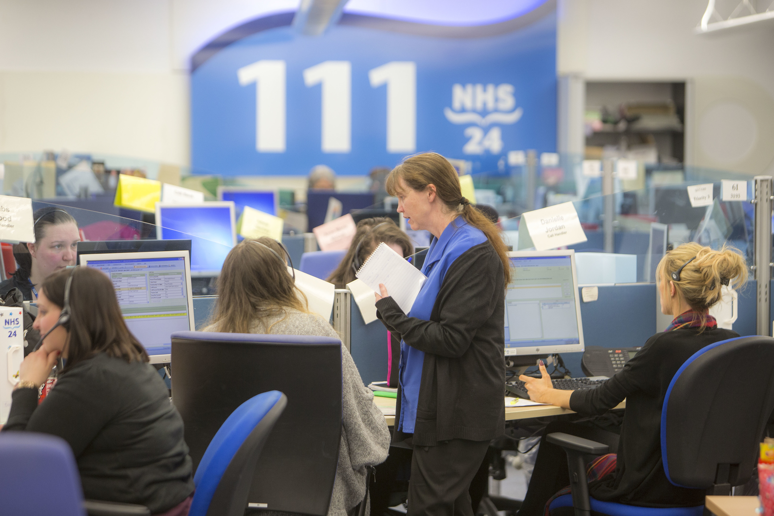 NHS 24 Call Centre, Clydebank
